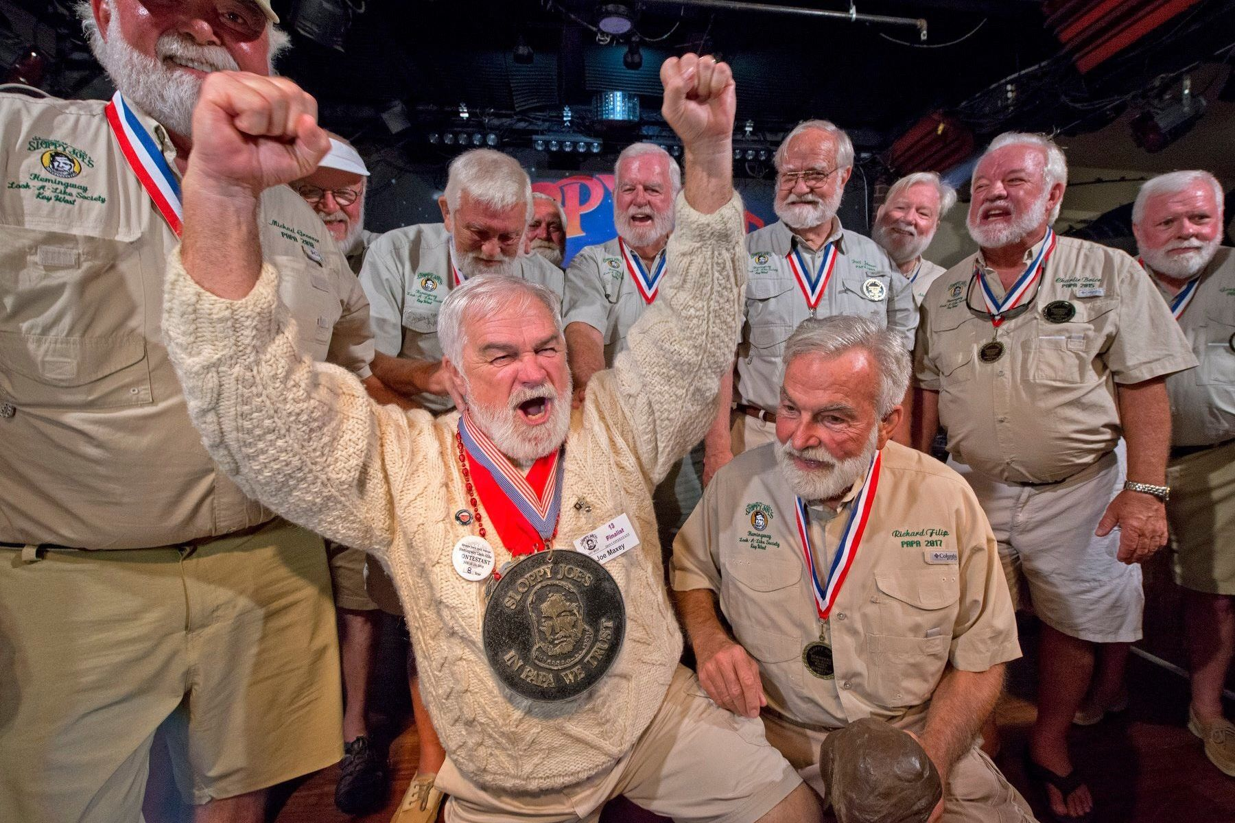Tennessee Man Wins Hemingway Look-Alike Contest in Key West