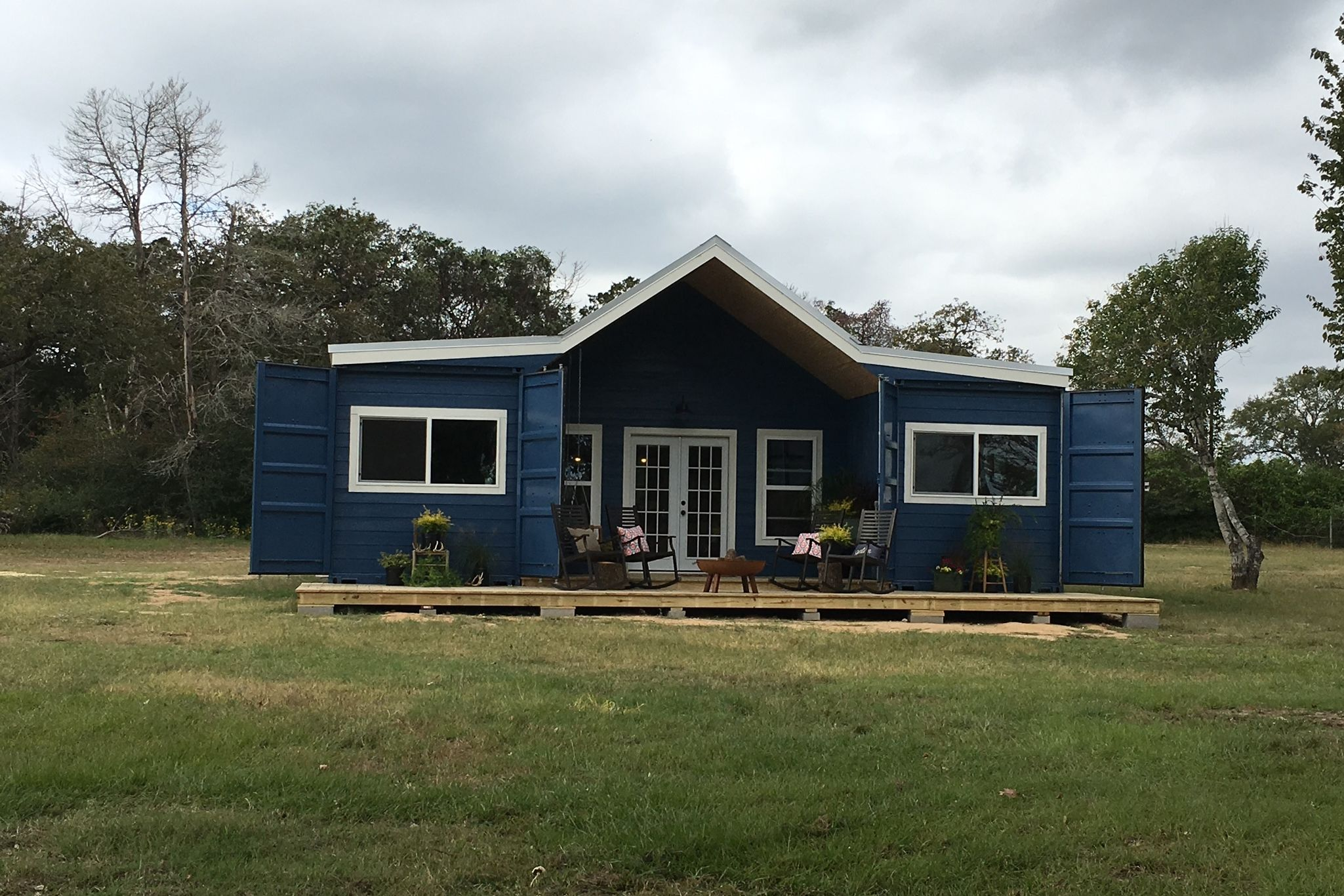 You're Going to Love This Modern Farmhouse Container Home