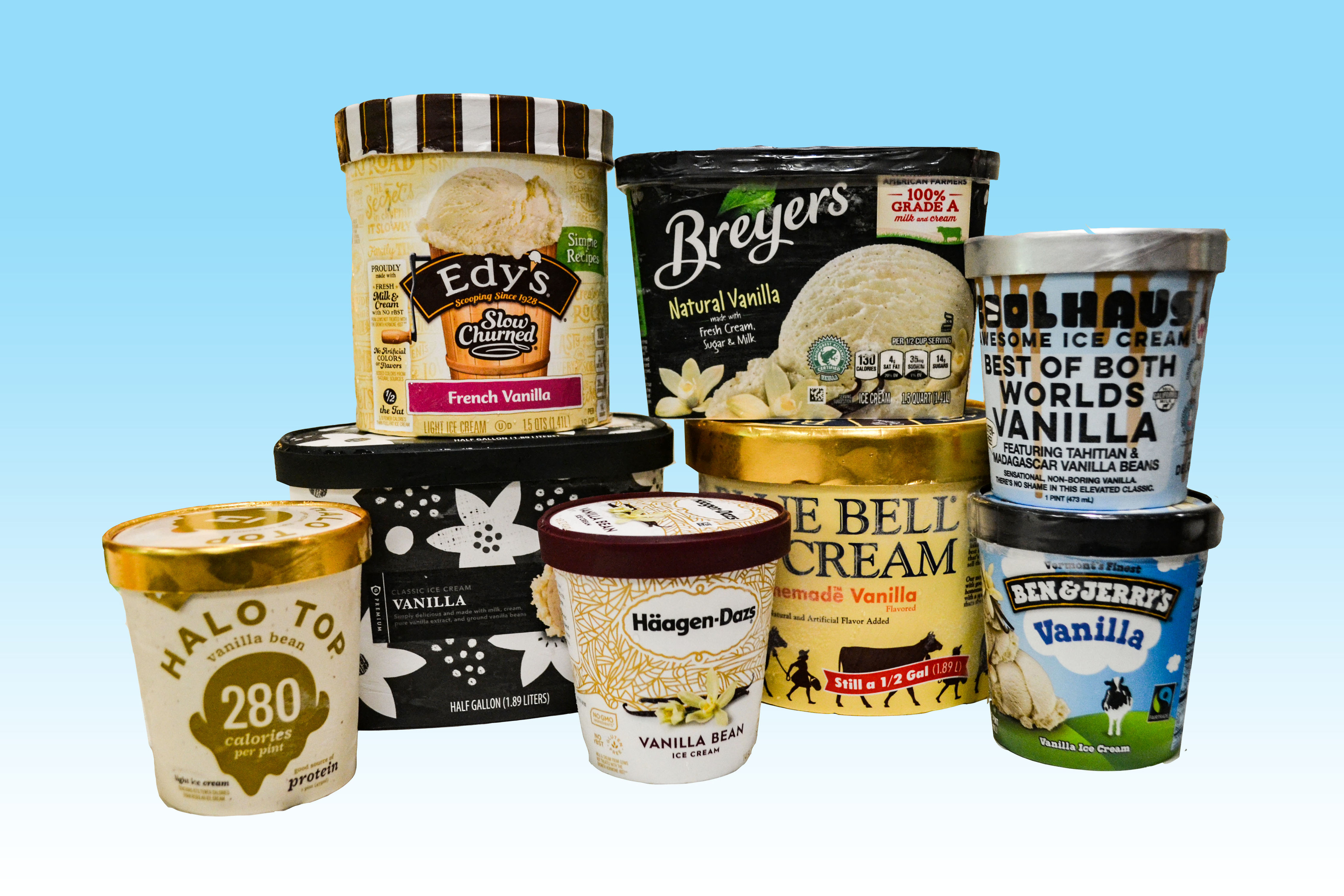 We Tasted 8 Vanilla Ice Creams, and These Are Our Favorites