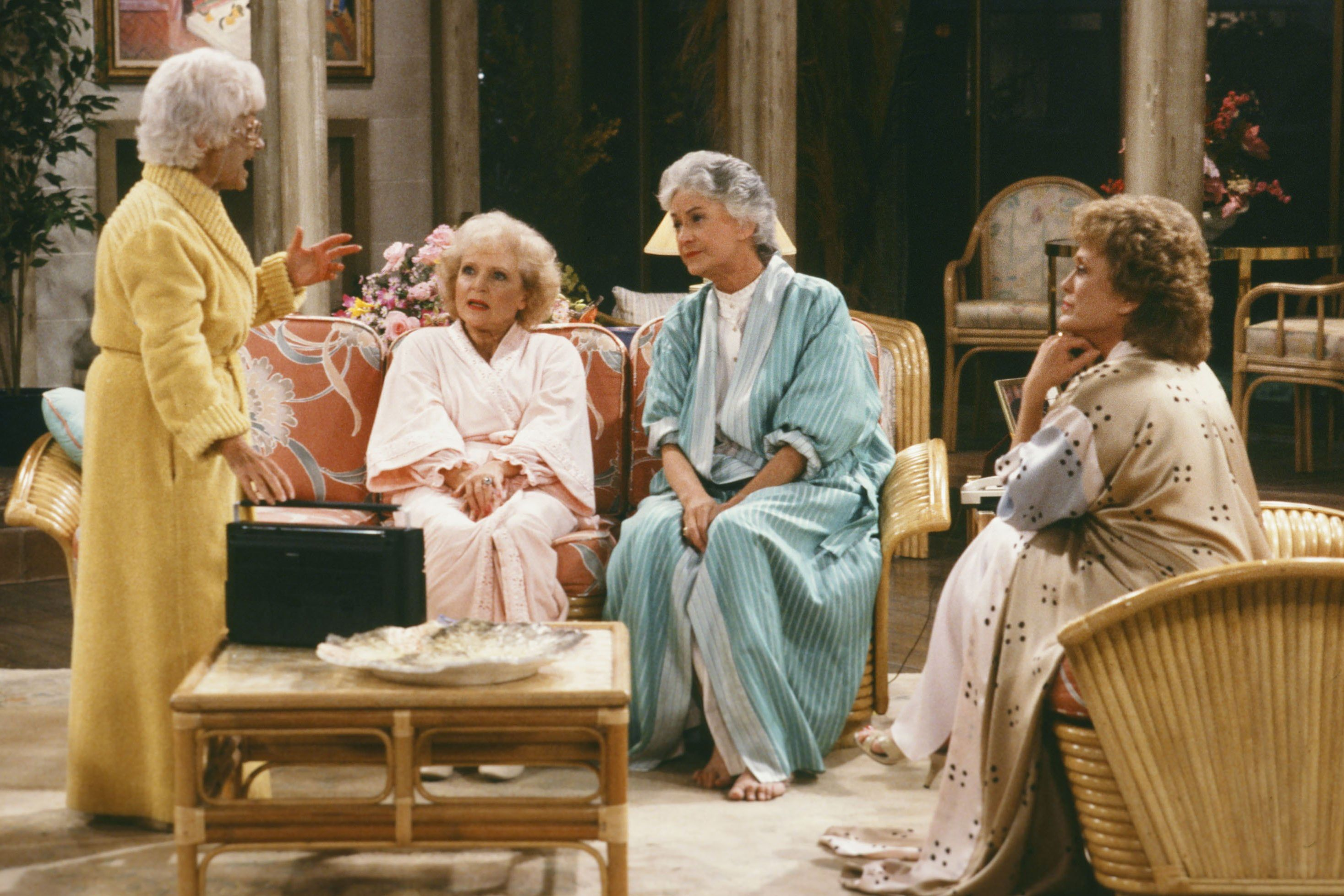 "WATCH: <i>The Golden Girls</i>' Theme Song Almost Wasn't ""Thank You for Being a Friend"""
