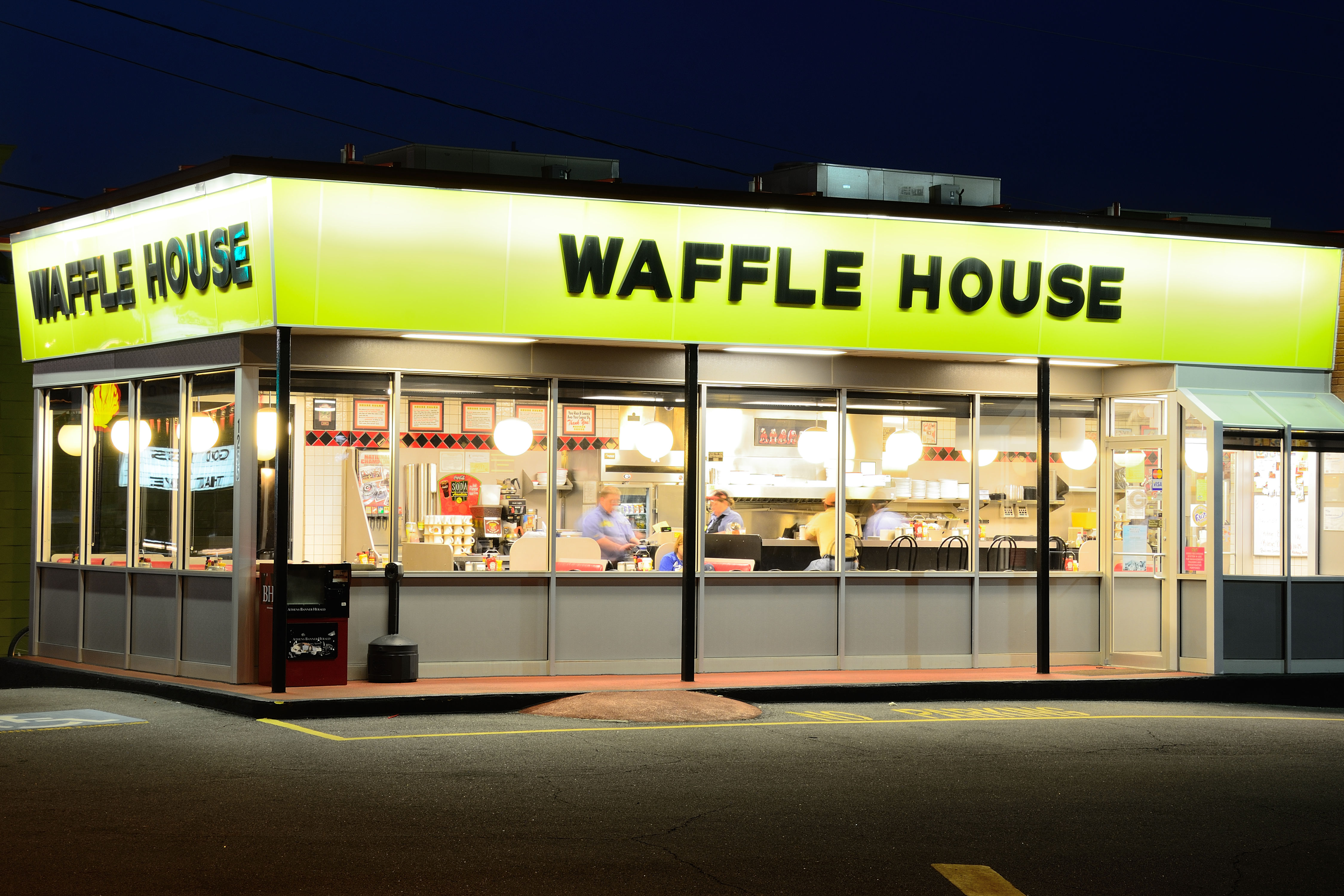 New Orleans Bakery Makes Couple the Most Amazing Waffle House-Themed Wedding Cake