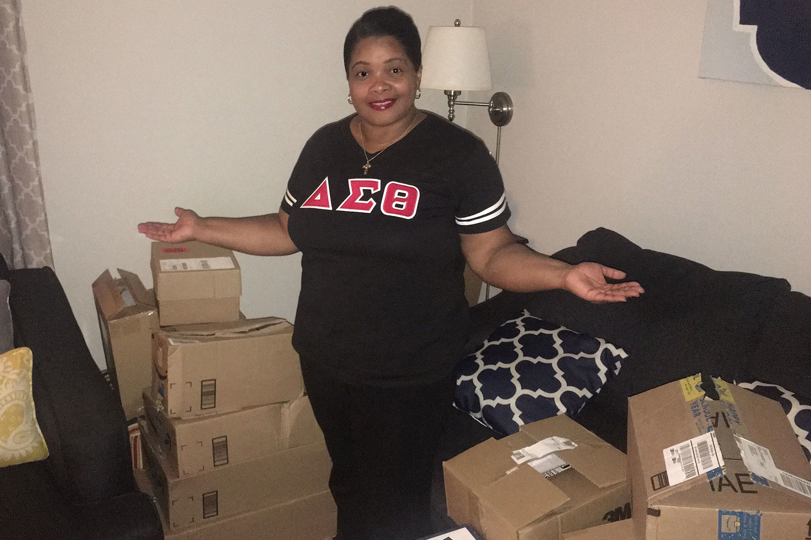This North Carolina Teacher's Sorority Sisters Bought Her Entire School Supplies Wishlist