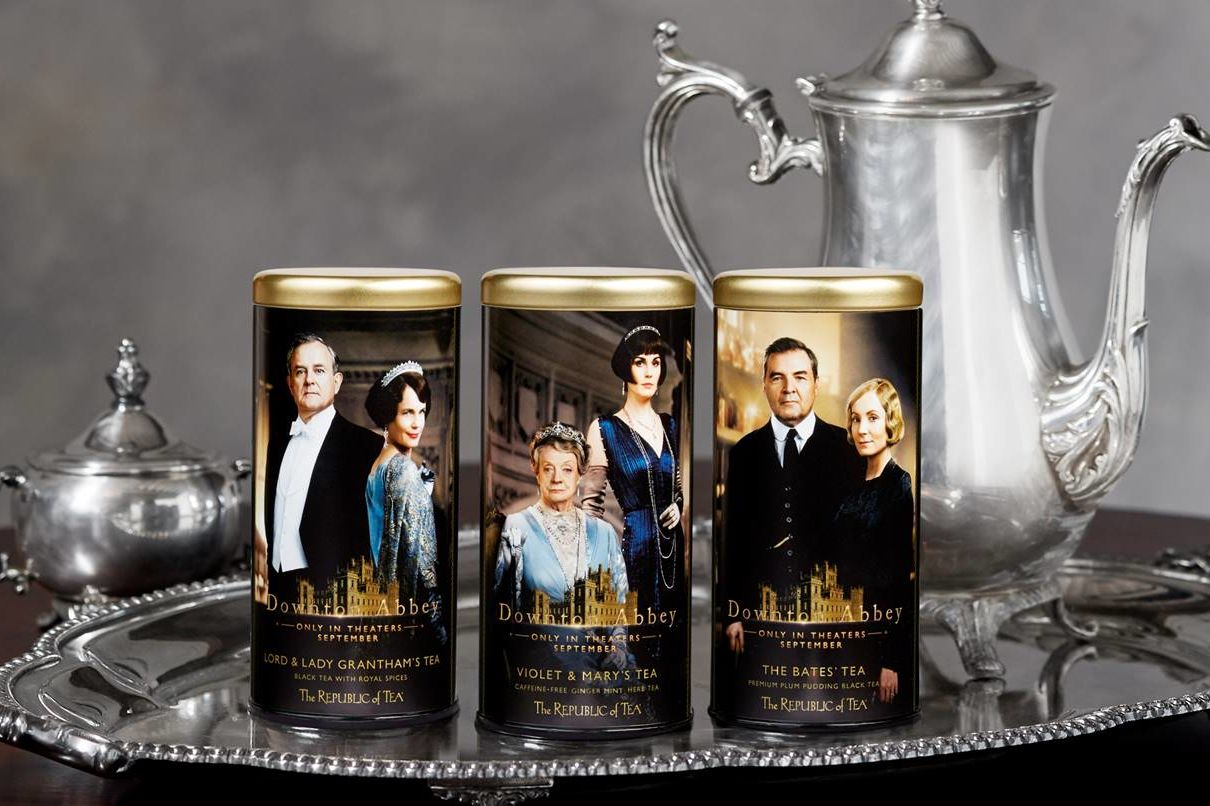 <i>Downton Abbey</i> Movie Teas Are Here and Our Mugs Are Ready