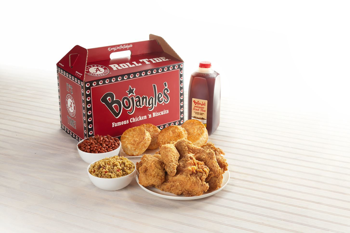 Bojangles' Just Launched Big Bo Boxes with NFL and College Football Team Designs