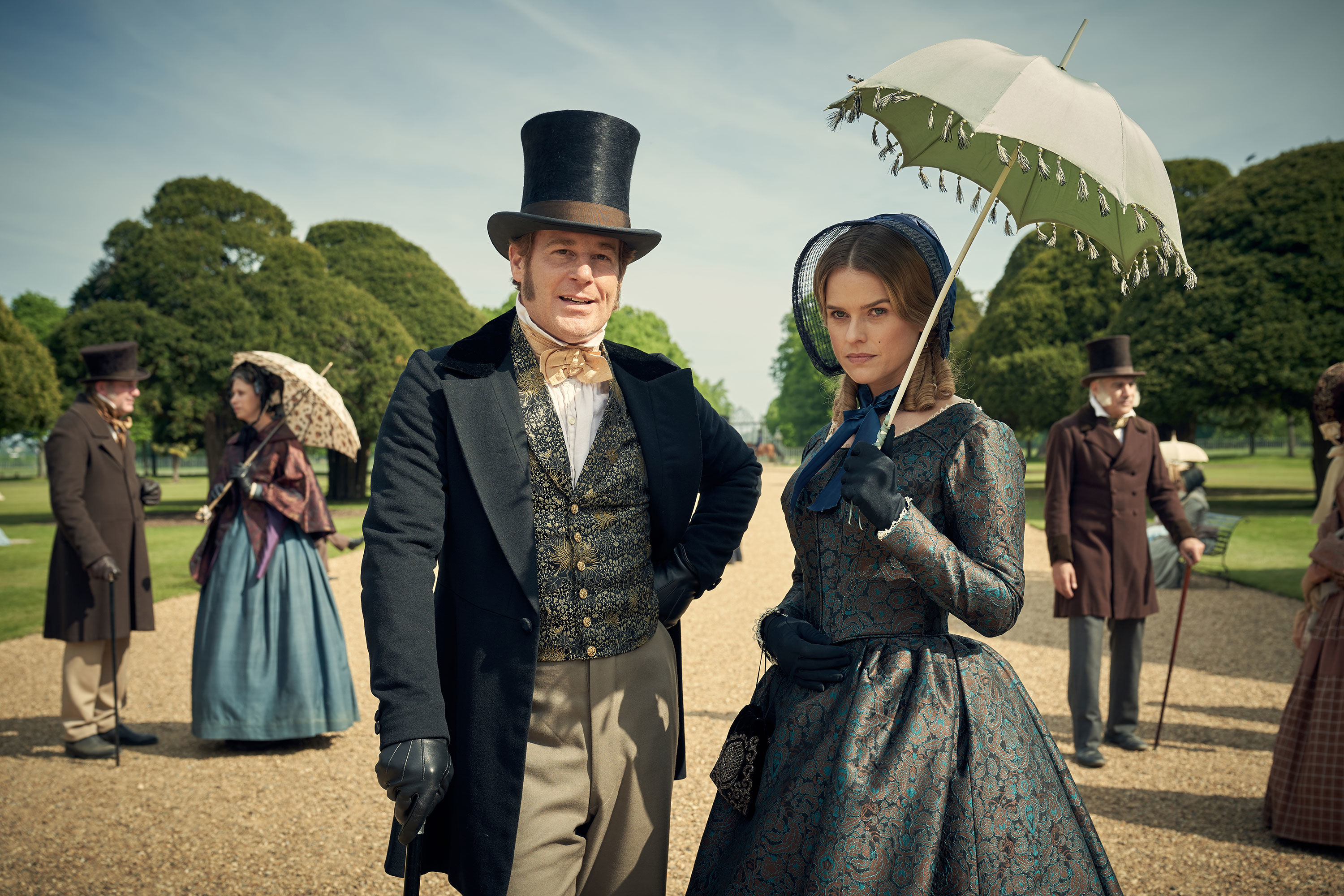 First Look at Downton Abbey Creator Julian Fellowes' New Series Belgravia