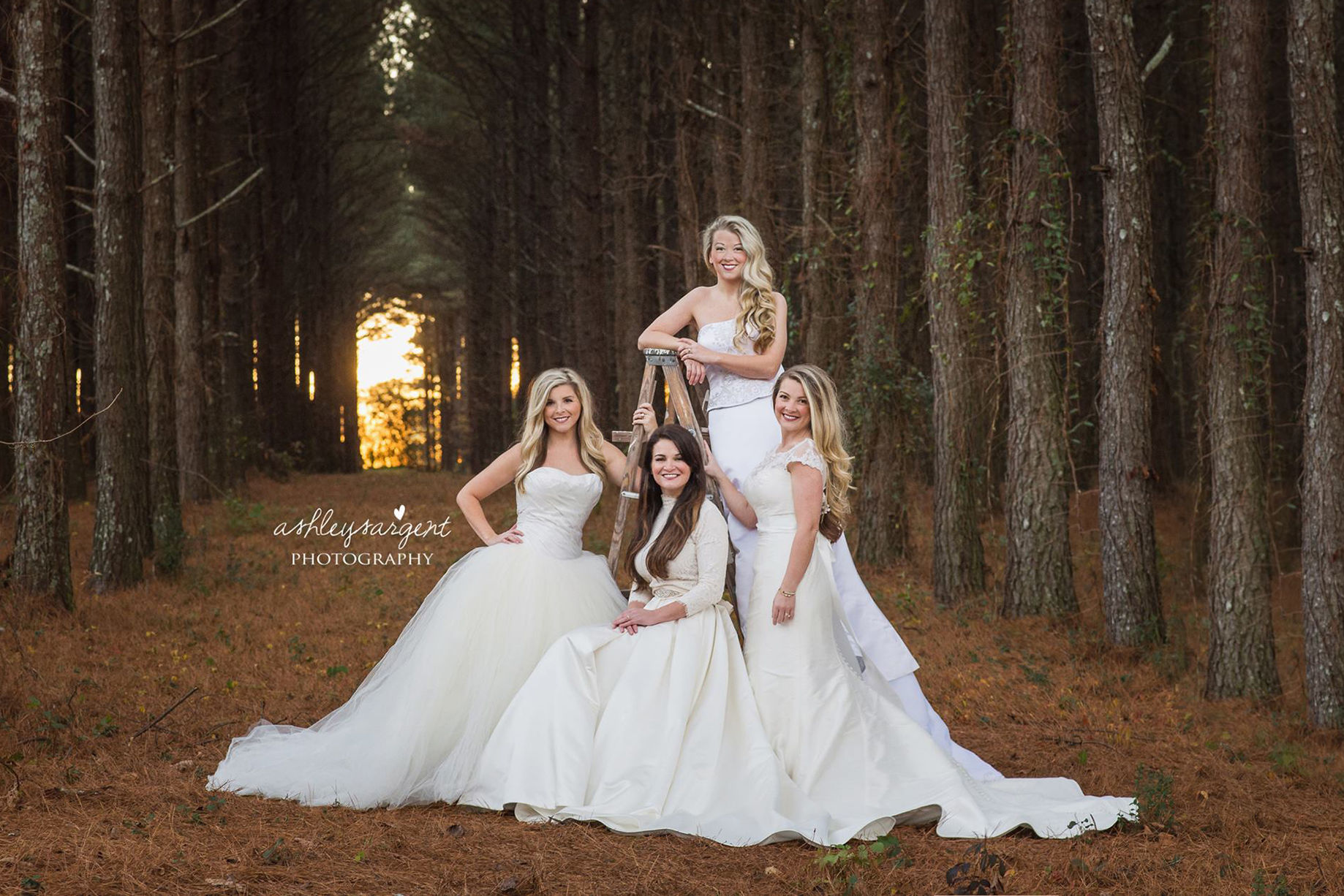 Single Mom Surprised by Daughters with Stunning Wedding Dress Photo Years in the Making