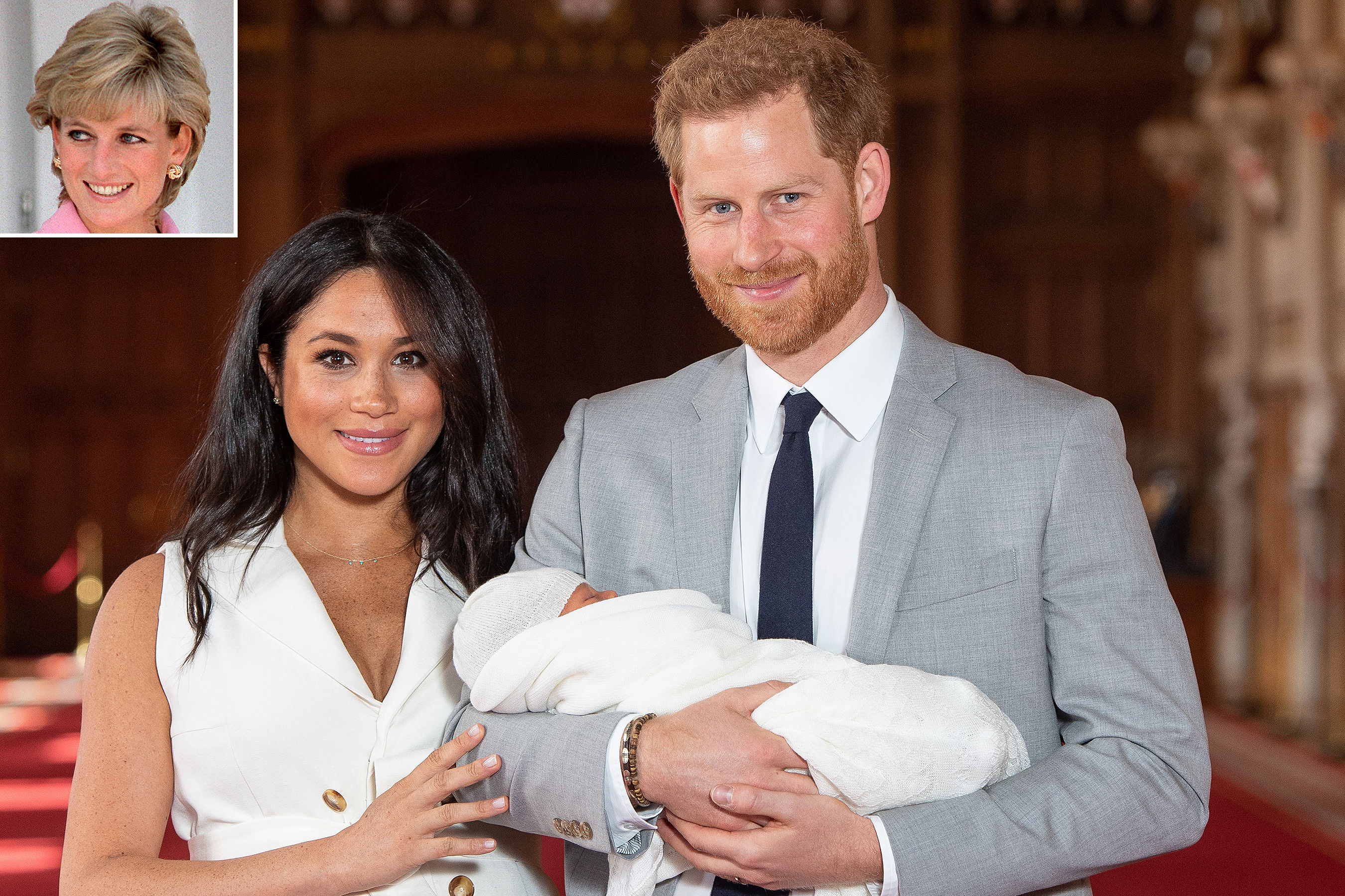 Did Meghan Markle and Prince Harry Find a Way to Honor Princess Diana with Baby Archie's Name?