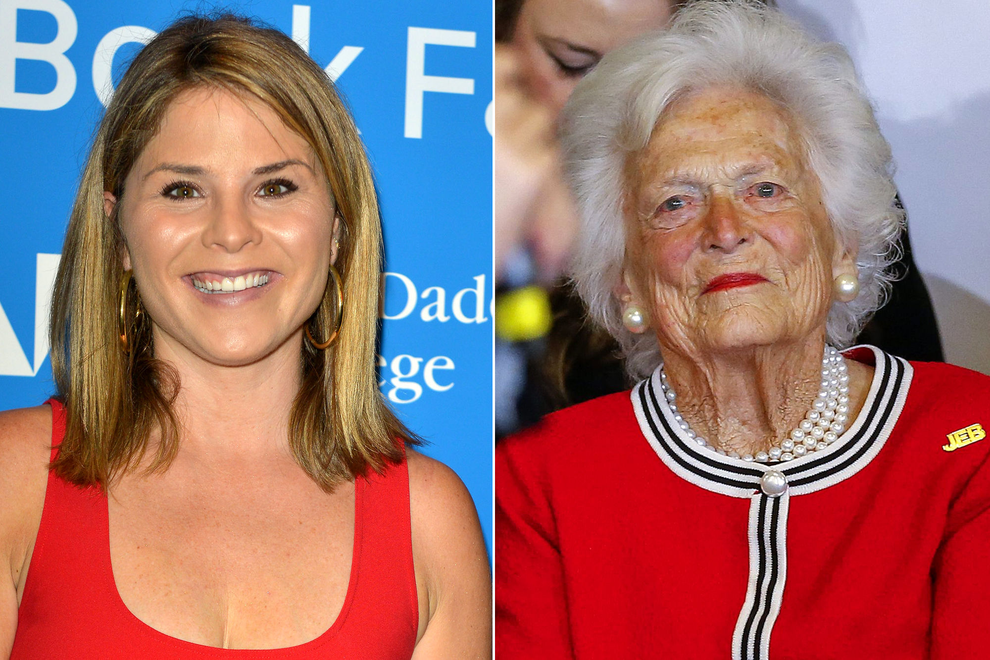 Emotional Jenna Bush Hager Says Barbara Bush Is 'in Great Spirits' After Announcing Failing Health