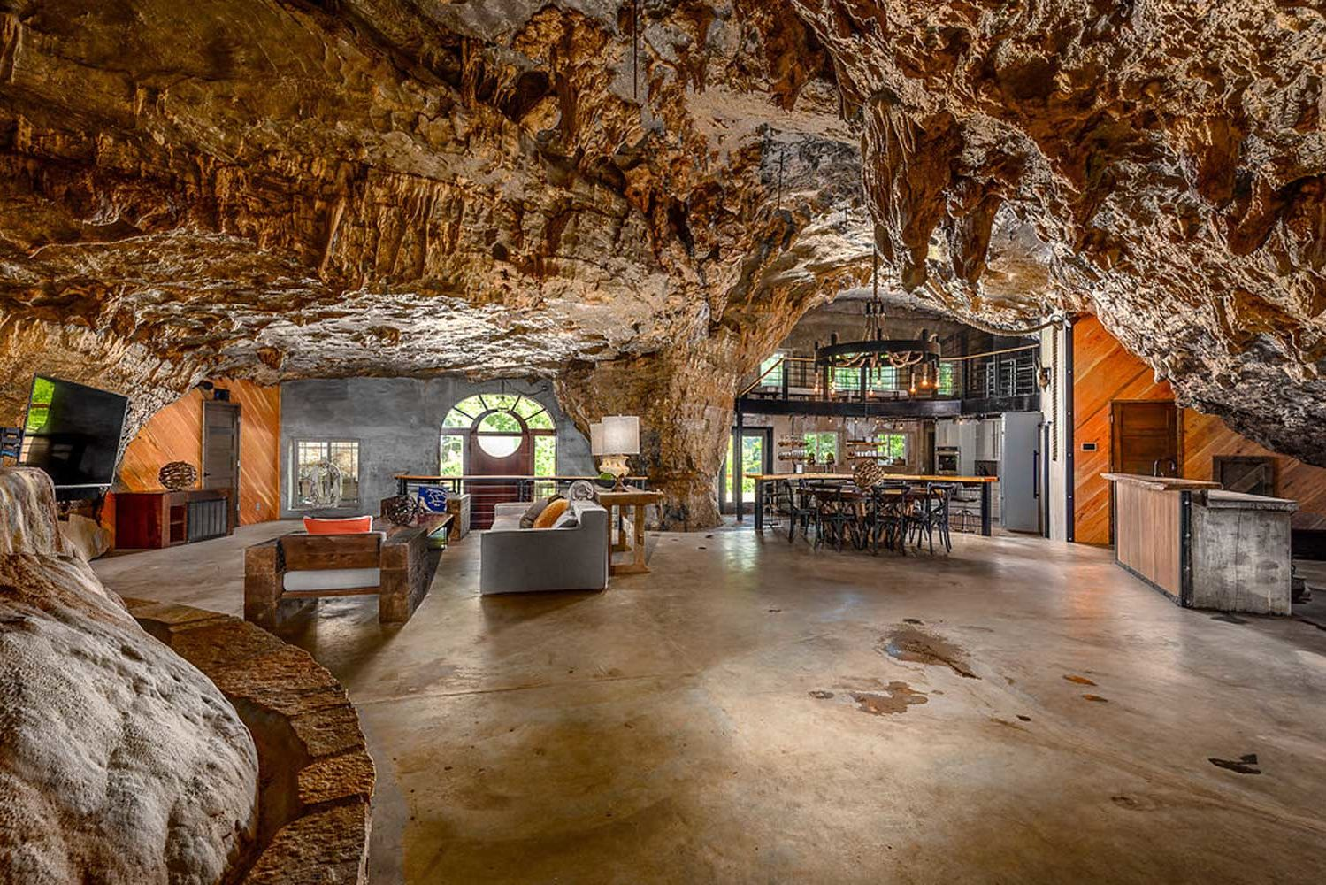 This Luxury Cave House Is Built Into a Mountain — and You Can Rent It for Your Next Vacation (Photos)