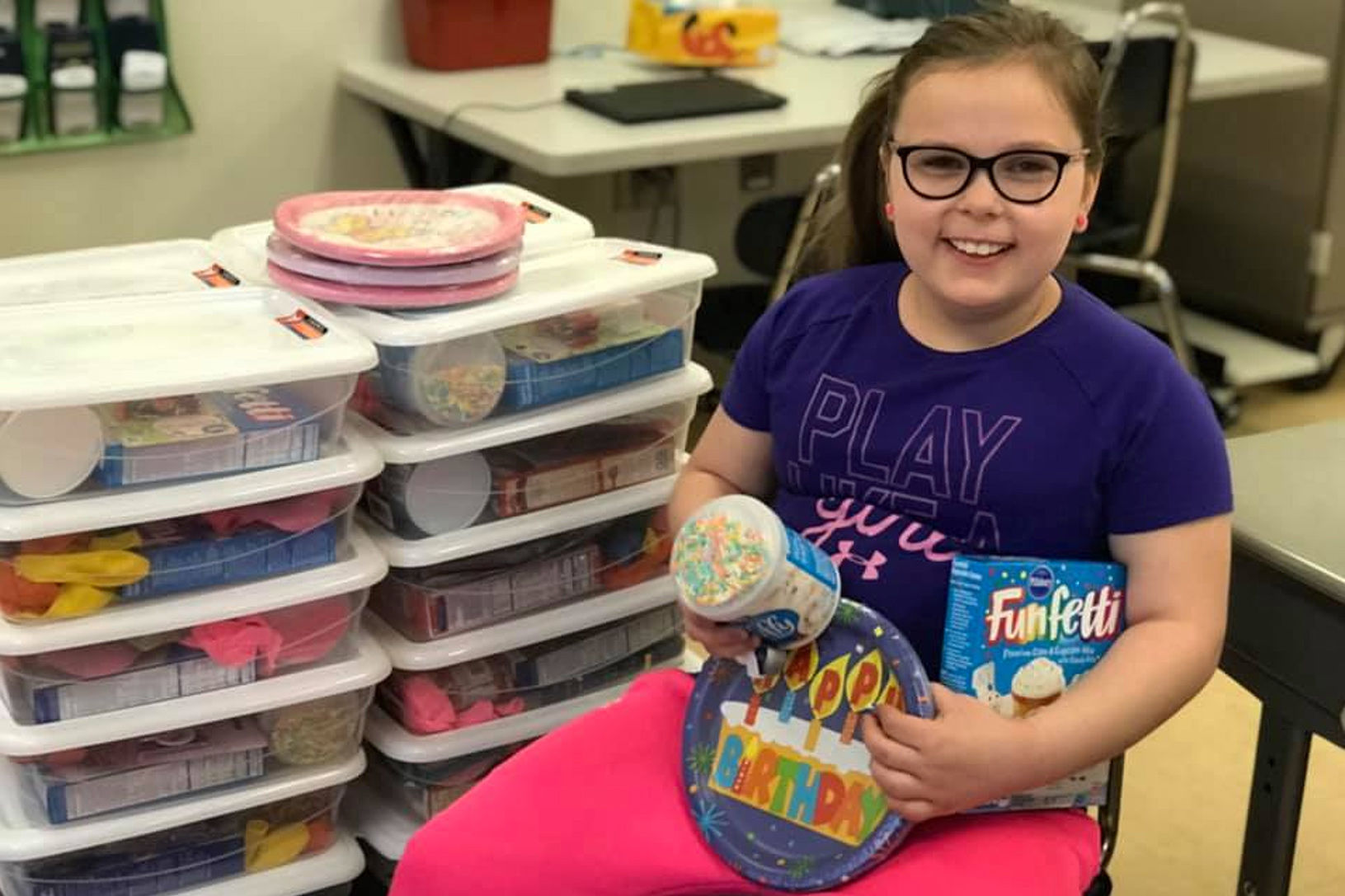 This 9-Year-Old Girl Builds Special Birthday Boxes for Classmates Who Can't Afford Parties