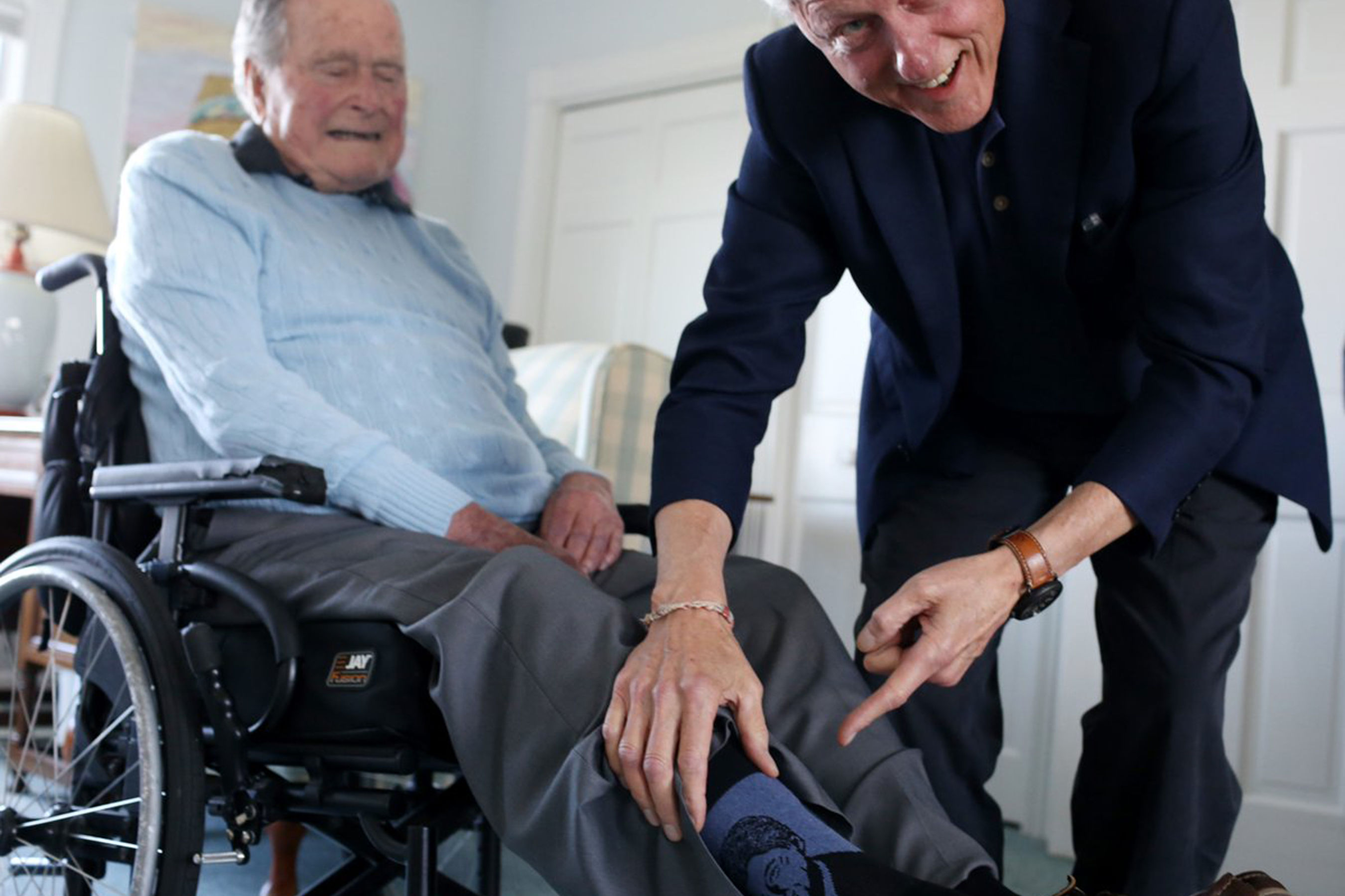 Americans Remember George H.W. Bush with Touching #SocksForBush Social Media Campaign