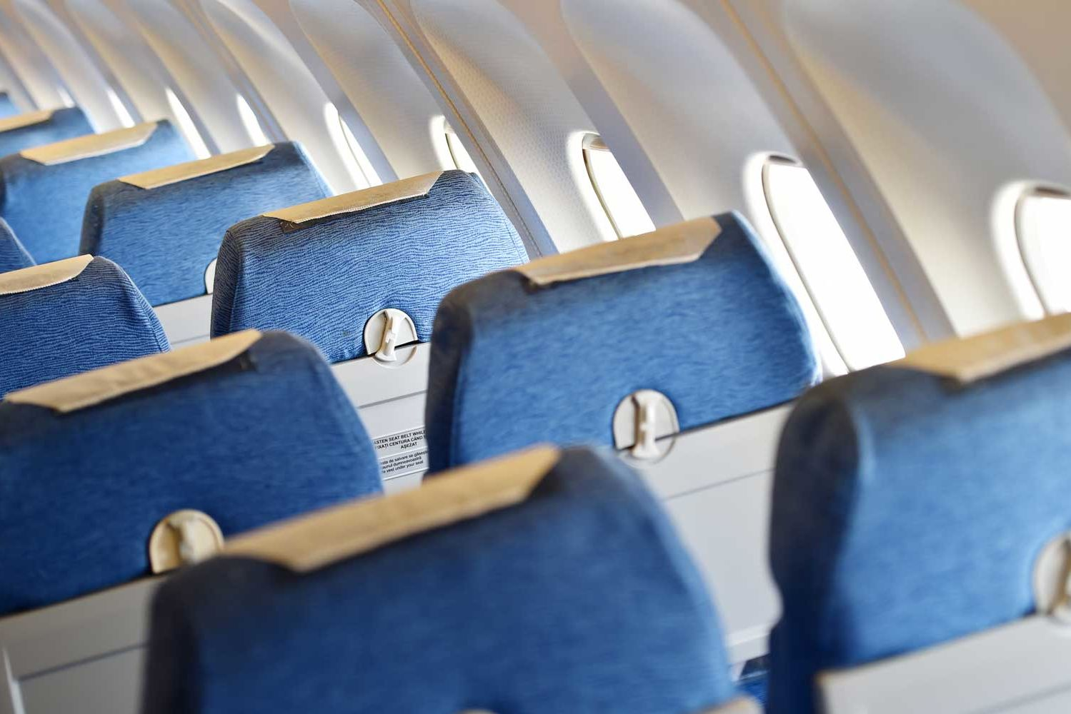 This Is Why Airplane Interiors Are Blue
