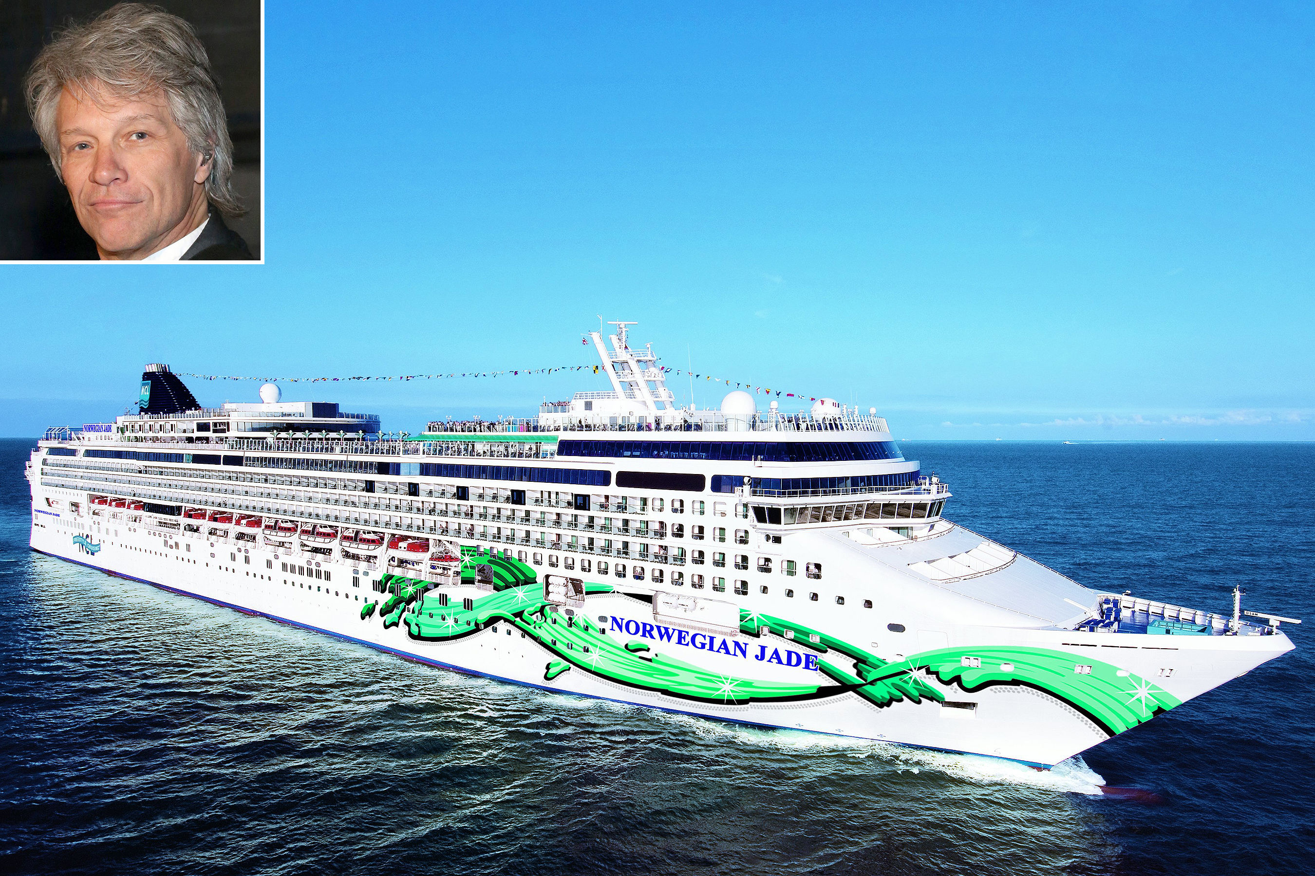 Sail the Seas With Bon Jovi! Everything You Need to Know About the Brand-New Cruise