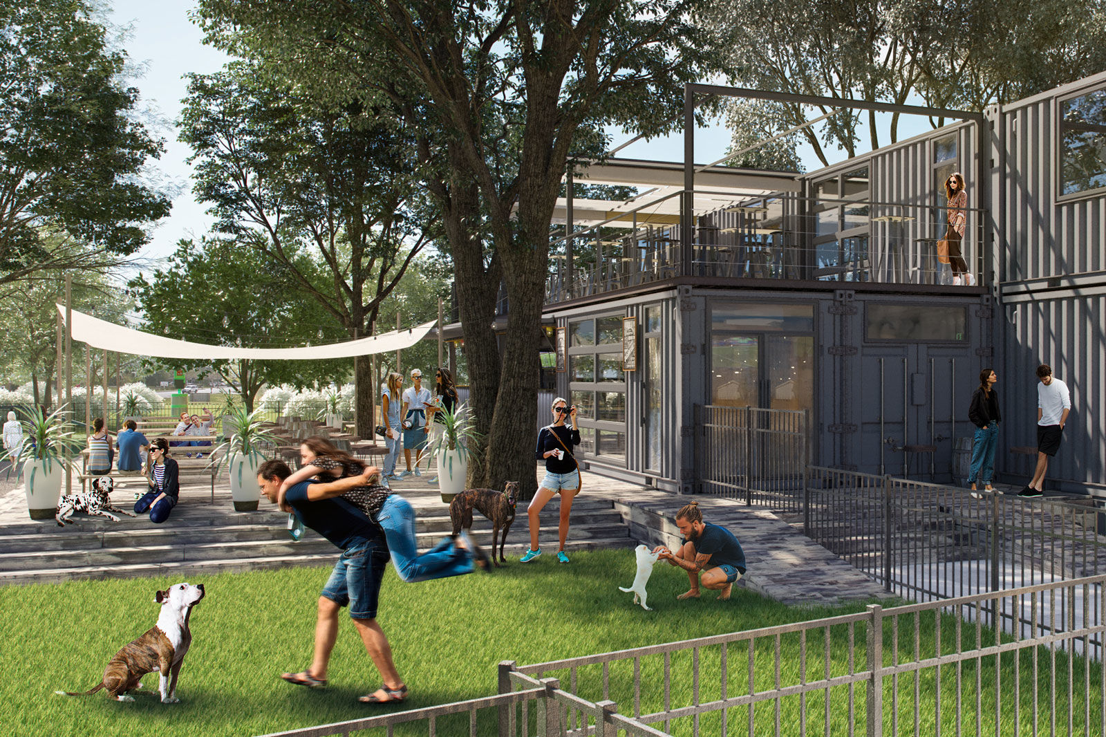 This New Orlando Bar Is Also a Dog Park, and We Want to Live There