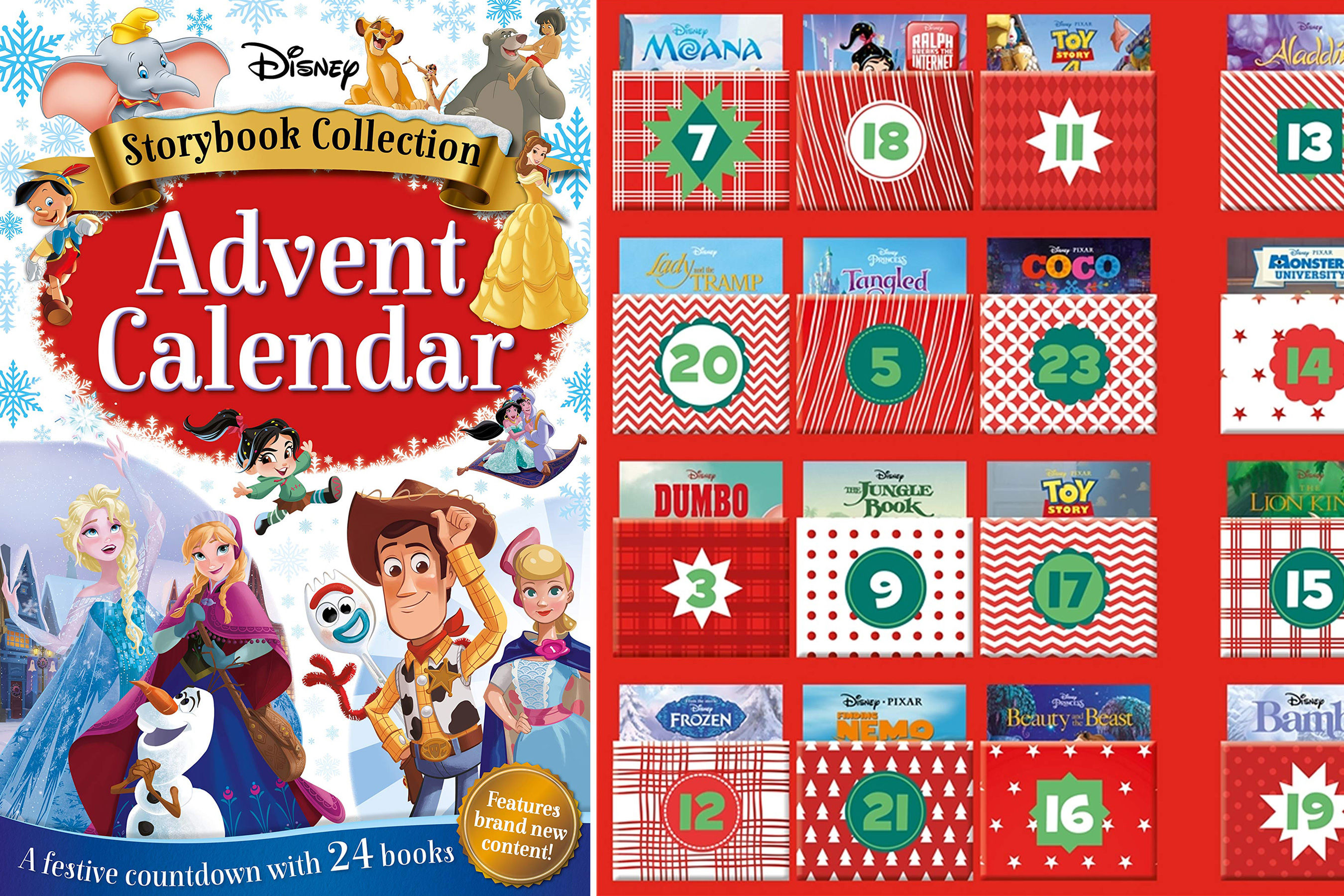 Disney Just Released an Advent Calendar Filled with 24 Books — and It's Already an Amazon Best-Seller