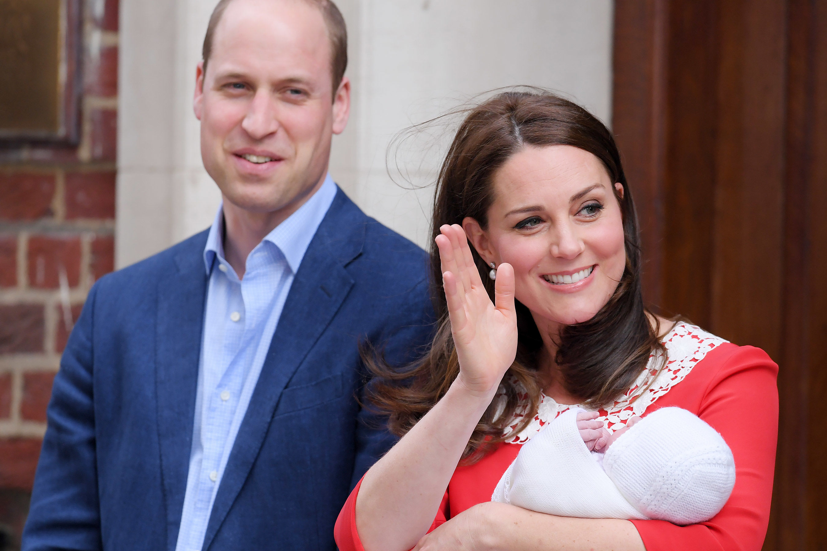 Kate Middleton Steps Out with New Royal Baby Just 7 Hours After Giving Birth: See the Photos!