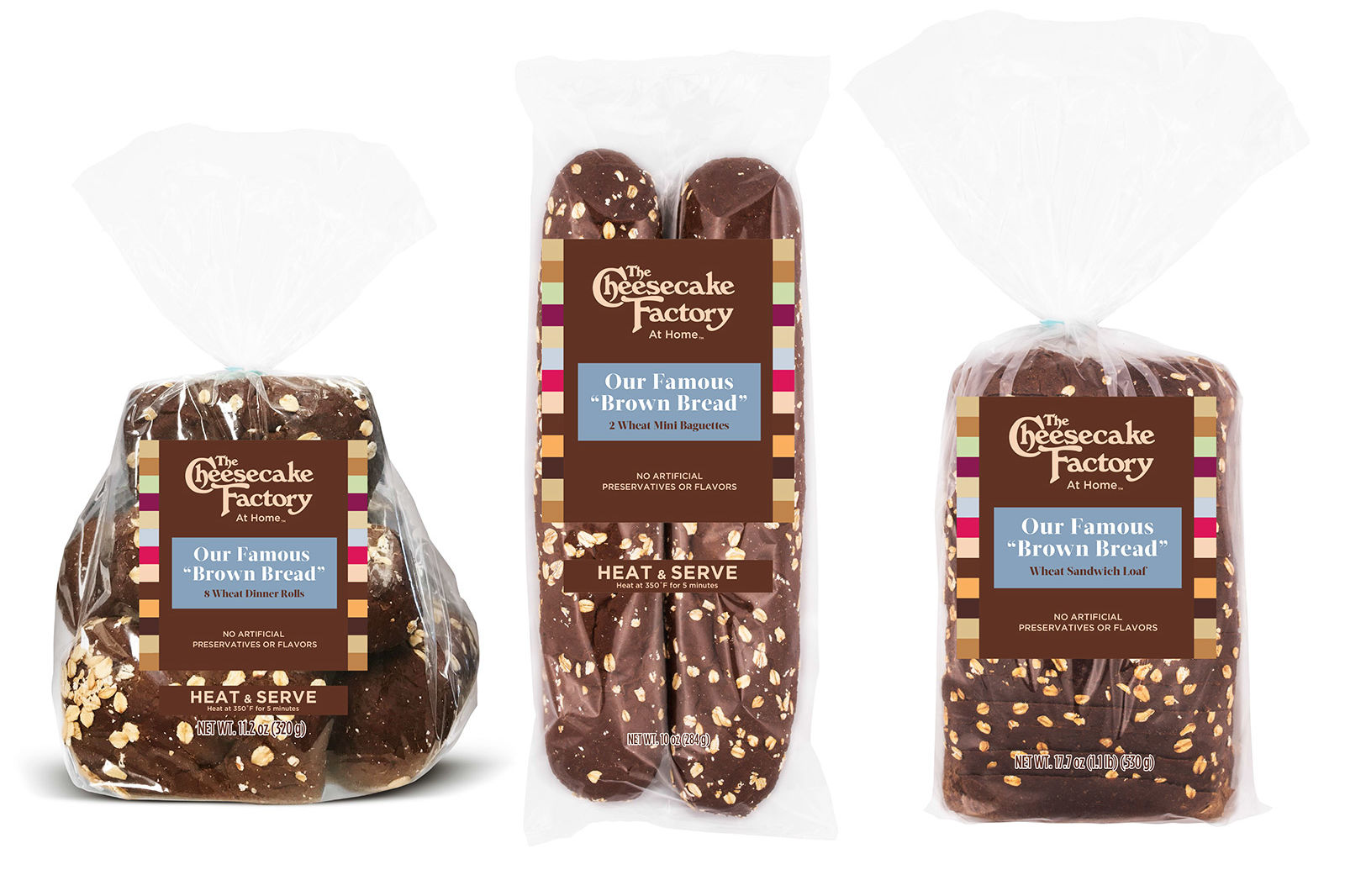 Cheesecake Factory's Famous Brown Bread Is Officially Coming to Grocery Stores