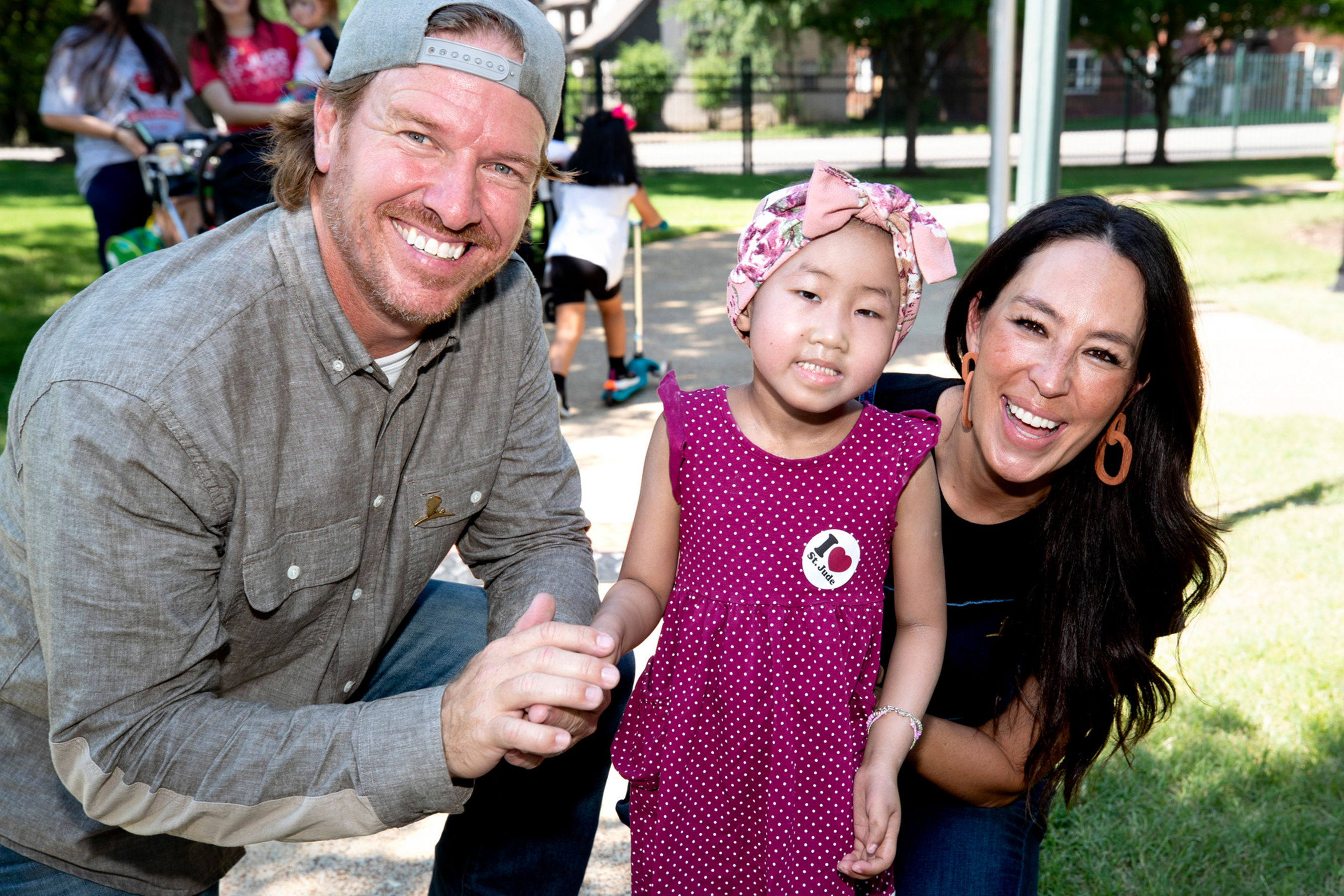 Chip and Joanna Gaines Present $1.5 Million Donation and Build a Playhouse for St. Jude