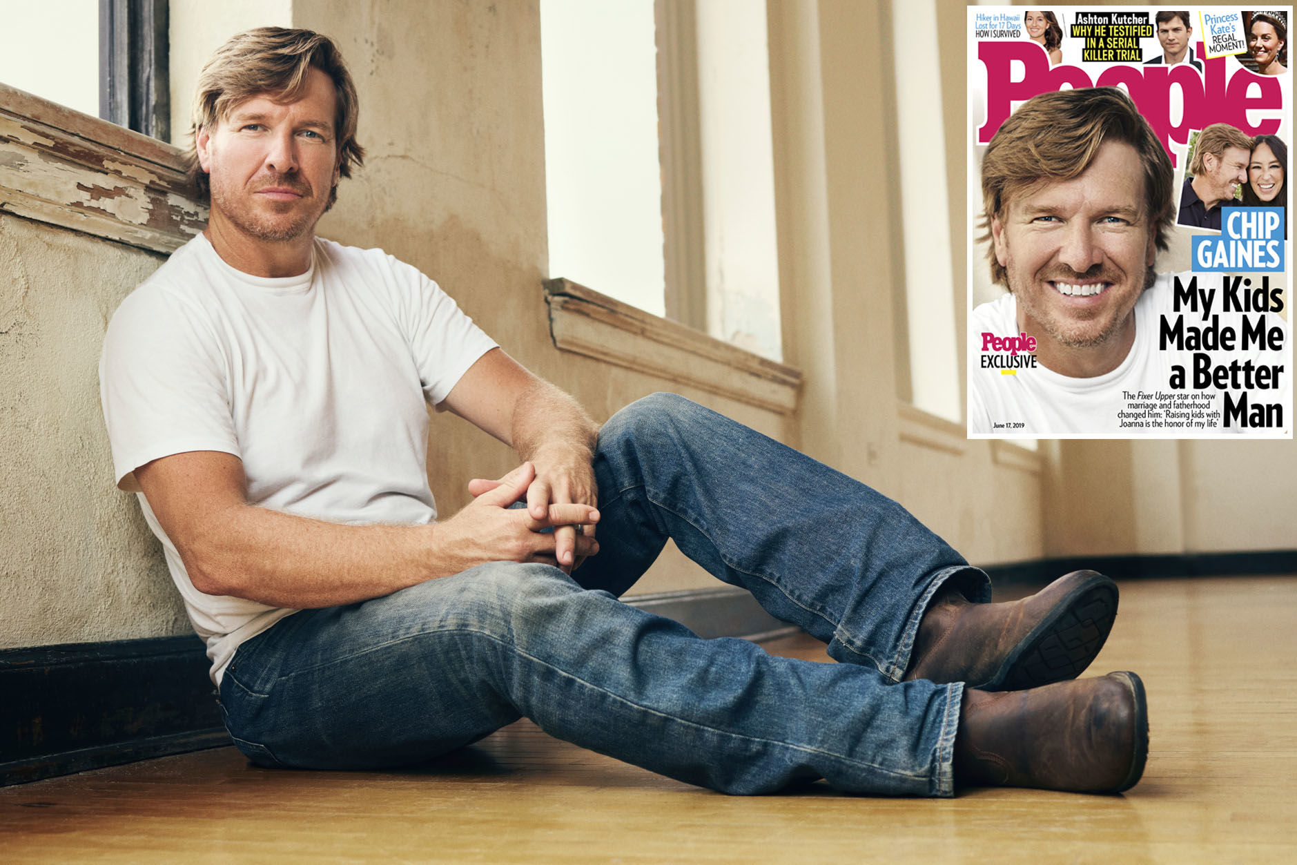 Chip Gaines on His Transition from Bachelor to Married Life with Joanna: 'I Had to Make Changes'