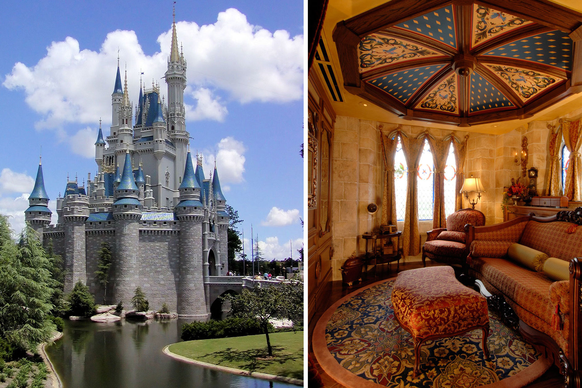 Did You Know There's a Secret Hotel Suite Inside Disney's Cinderella Castle?