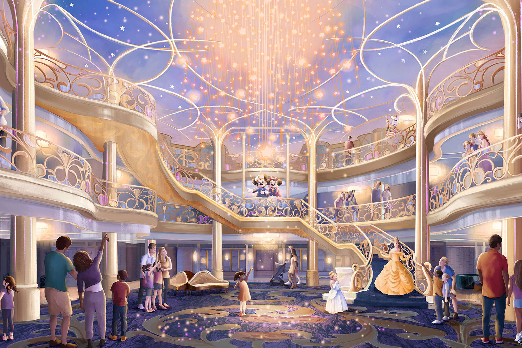 Disney Cruise Lines Reveals a New Ship (and Island Getaway) — See the Disney Wish!