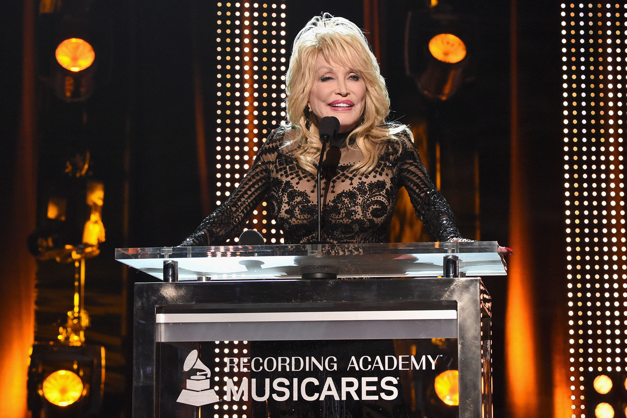 Garth Brooks, Willie Nelson, and More Pay Tribute to Dolly Parton at MusiCares 2019 Person of the Year