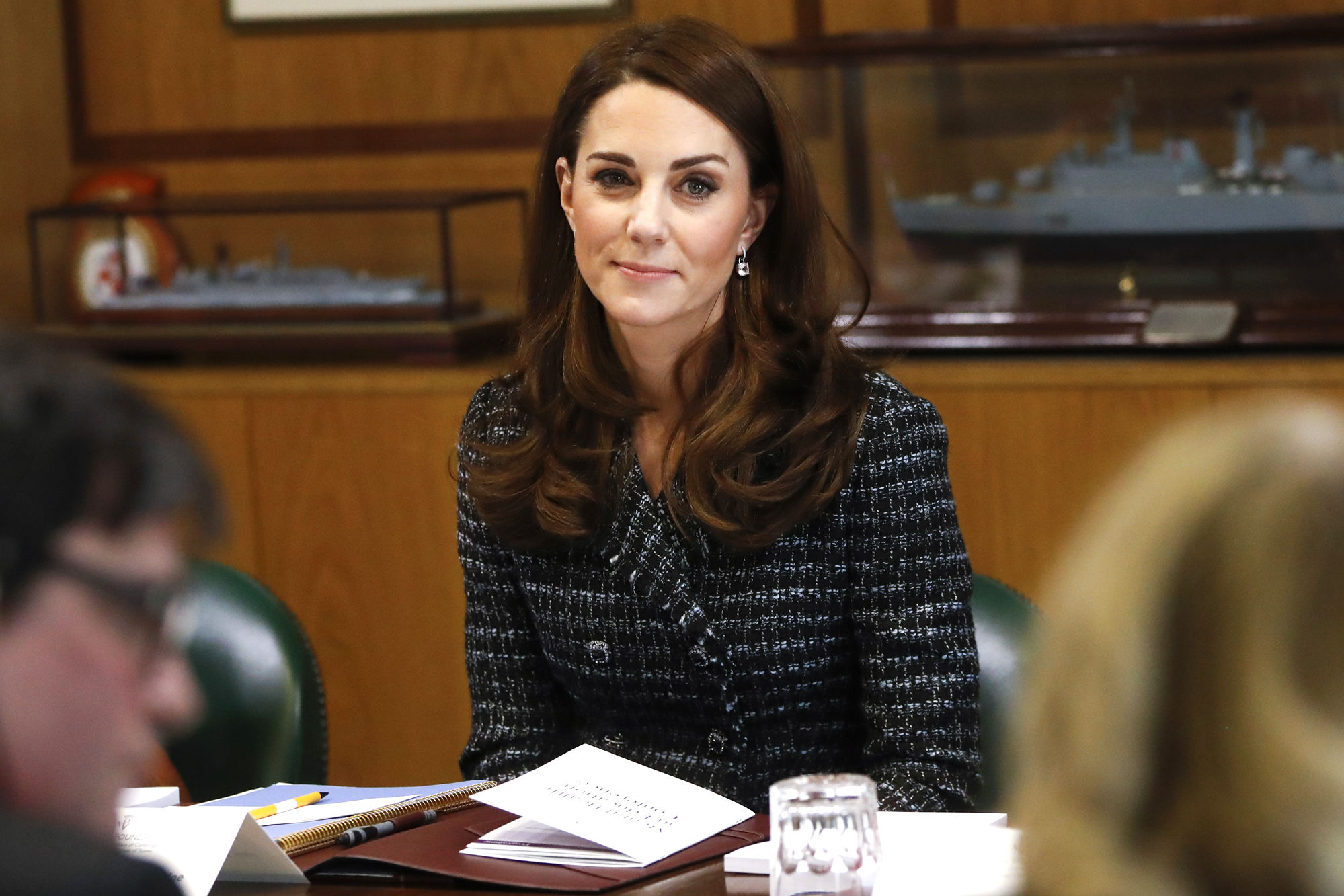 Kate Middleton Quietly Attended a (3-Hour!) Parent Meeting on Mental Health at Her Children's School