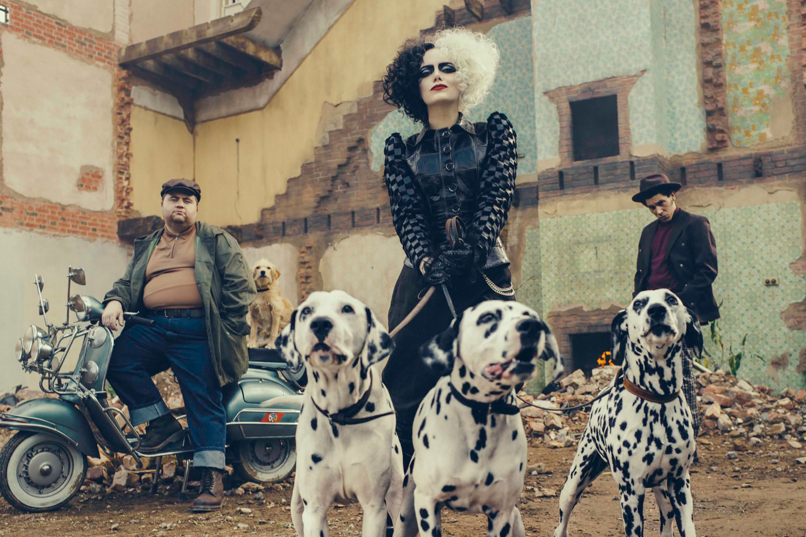 See Emma Stone as Cruella de Vil in First Look at Disney's Live-Action Cruella