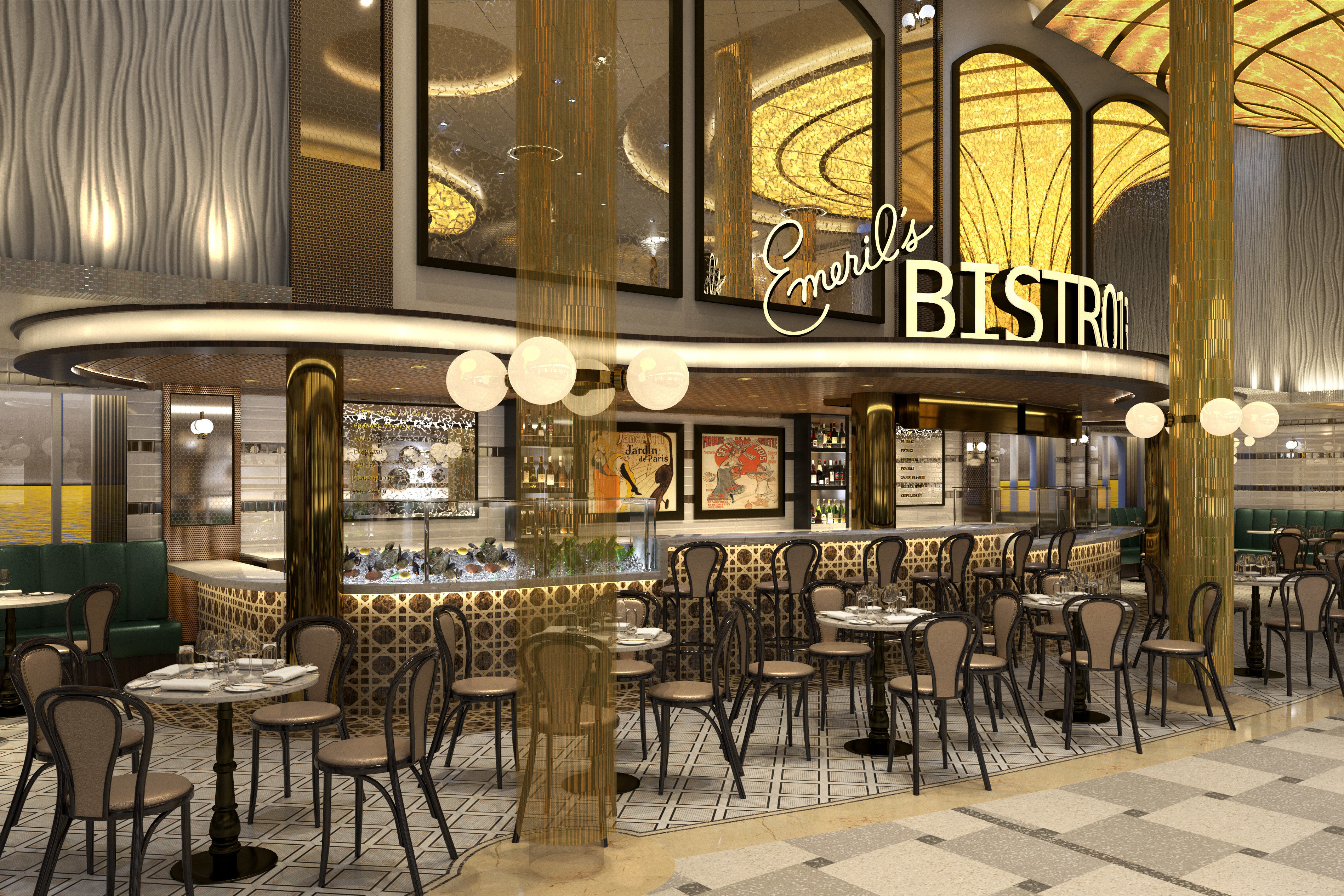 Emeril Lagasse Opens His First Restaurant at Sea With Carnival Cruise Line
