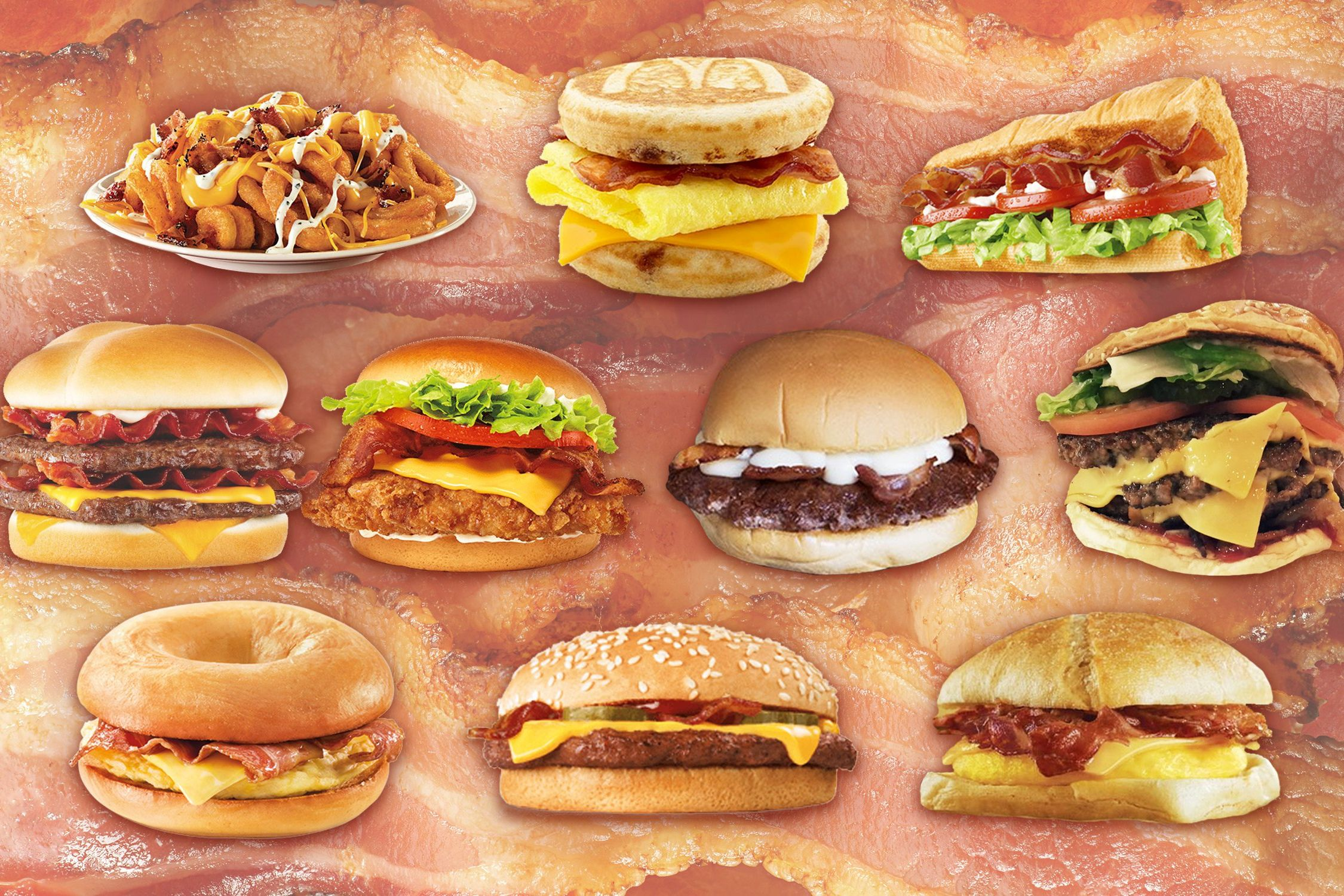 The Best and Worst Bacon from Fast Food Restaurants