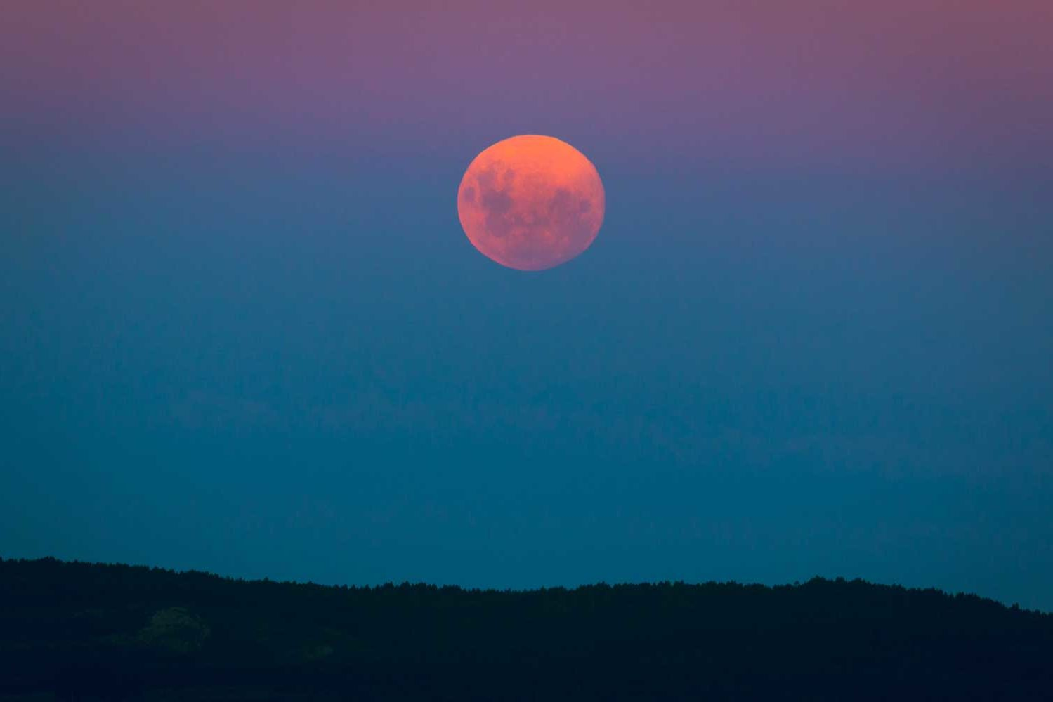 The Best Time to See the Full Flower Moon in May