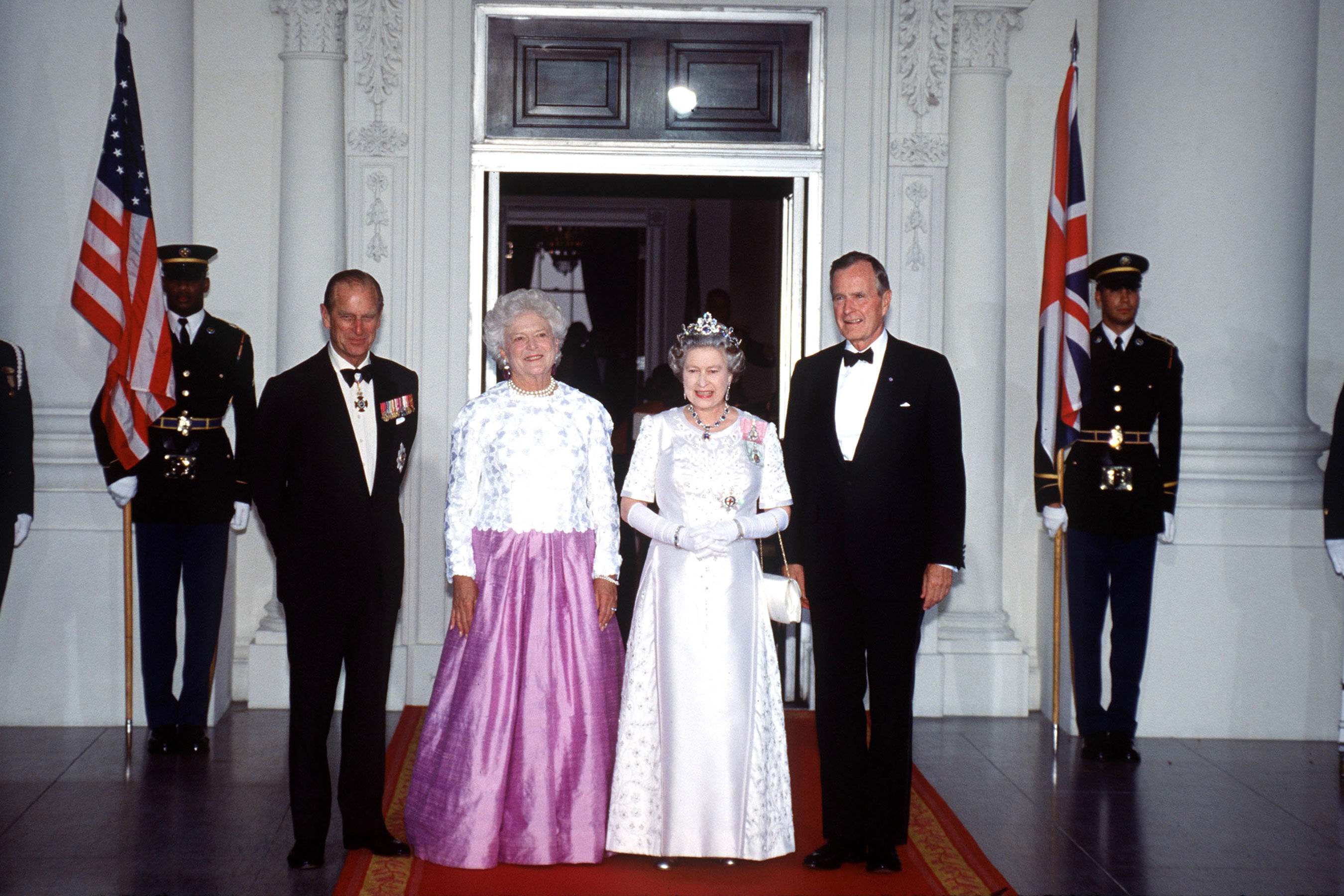 Queen Elizabeth Remembers George H.W. Bush — Who She Knighted in 1993 — with 'Great Fondness'