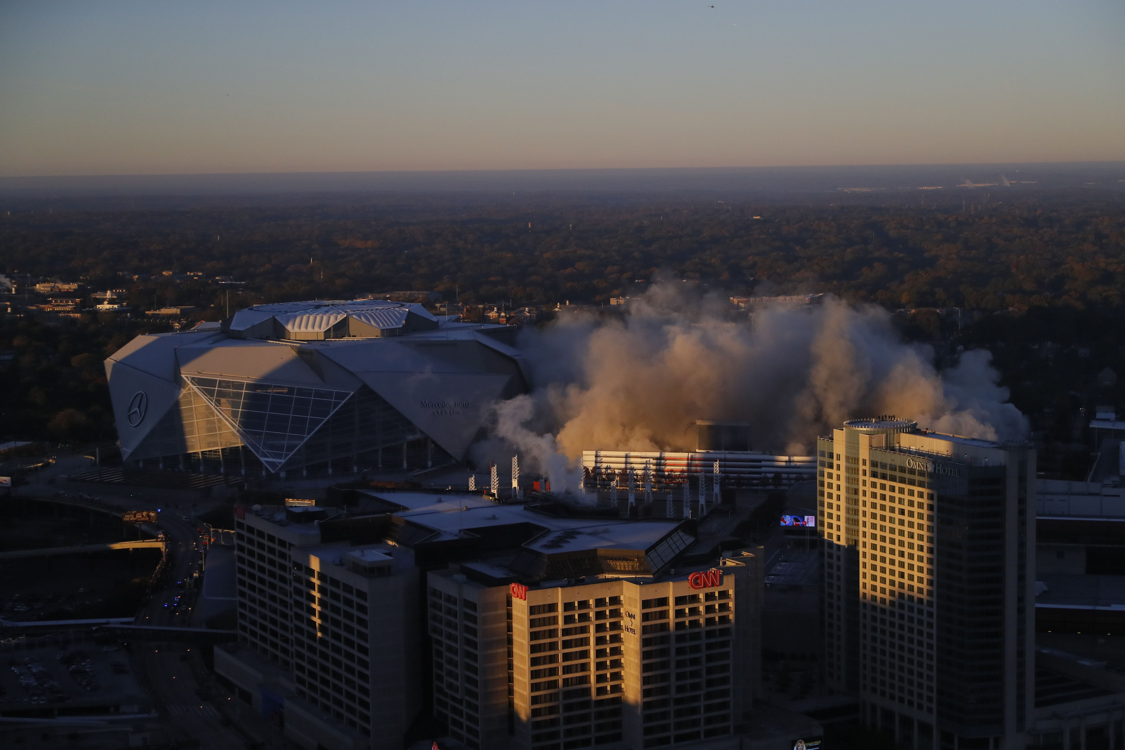 WATCH: It Took 240 Tons of Explosives (and Just 12 Seconds) to Bring Down the Georgia Dome