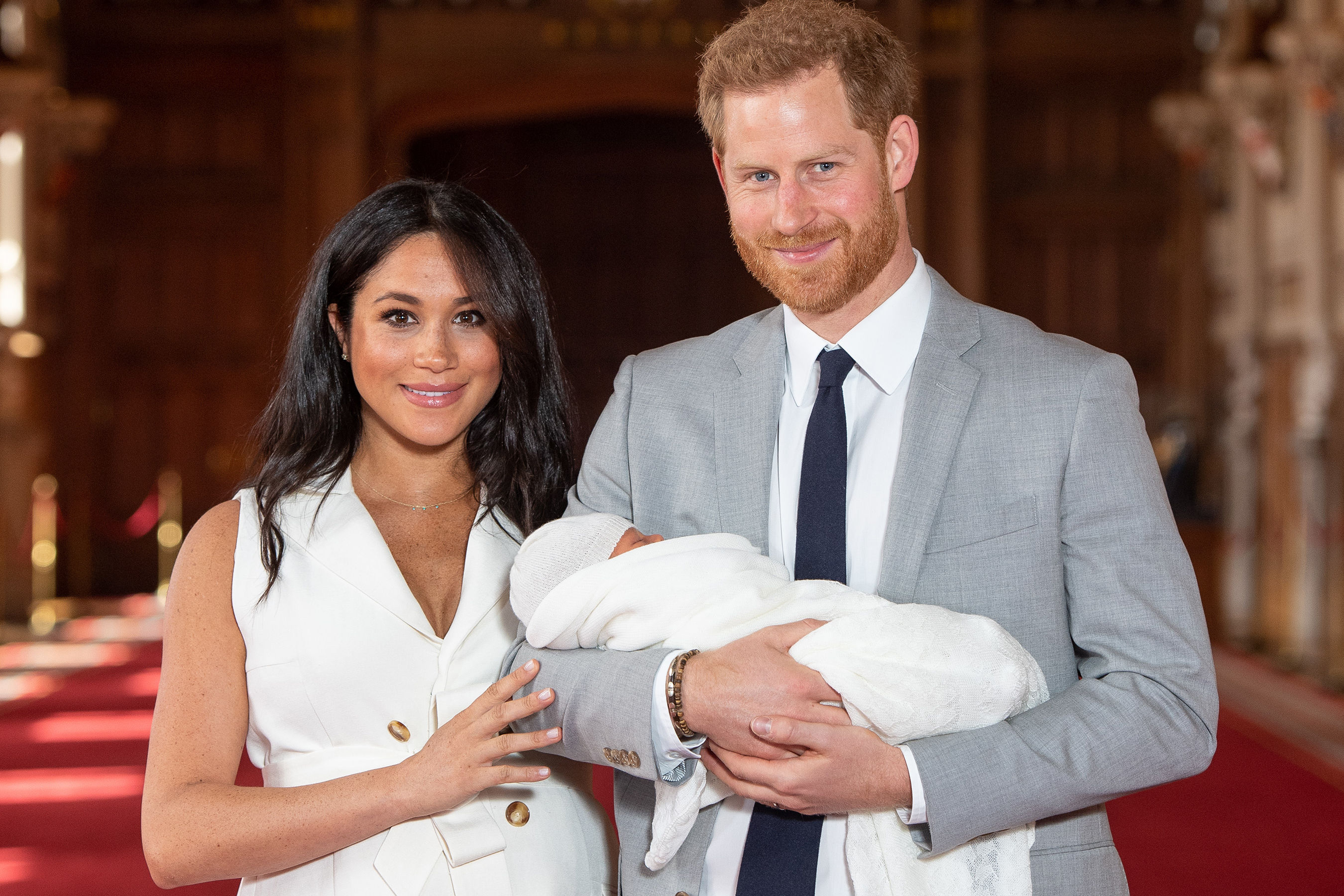 Royal Hand-Me-Down! Archie Will Wear Same Christening Robe as Cousins George, Charlotte, and Louis