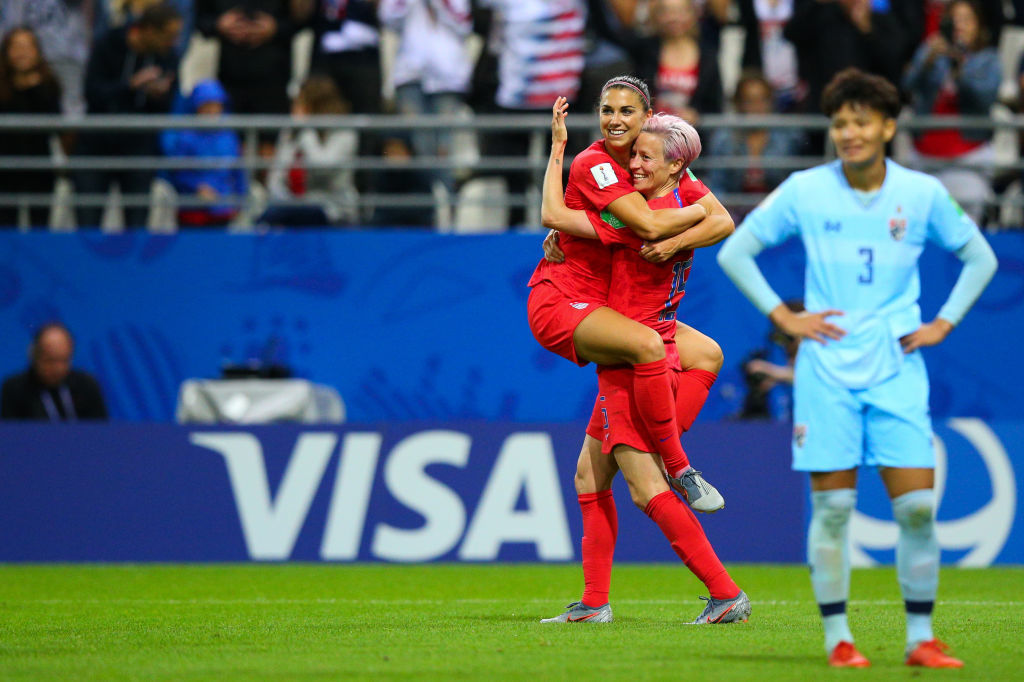 U.S. Women's National Soccer Team Just Scored the Most Goals Ever in a Women's World Cup Match