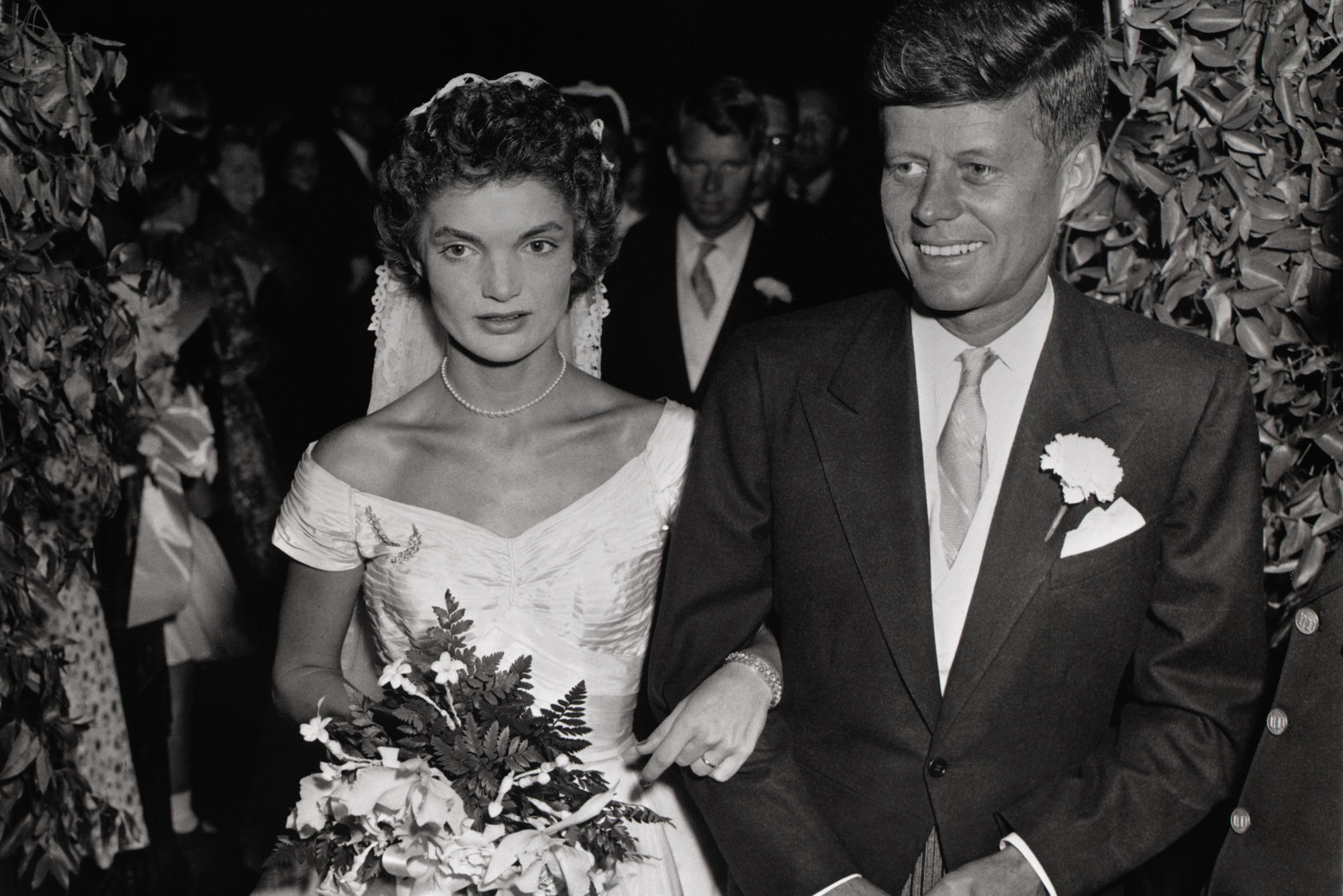 A Closer Look at Jackie Kennedy's Famous Ann Lowe Wedding Dress