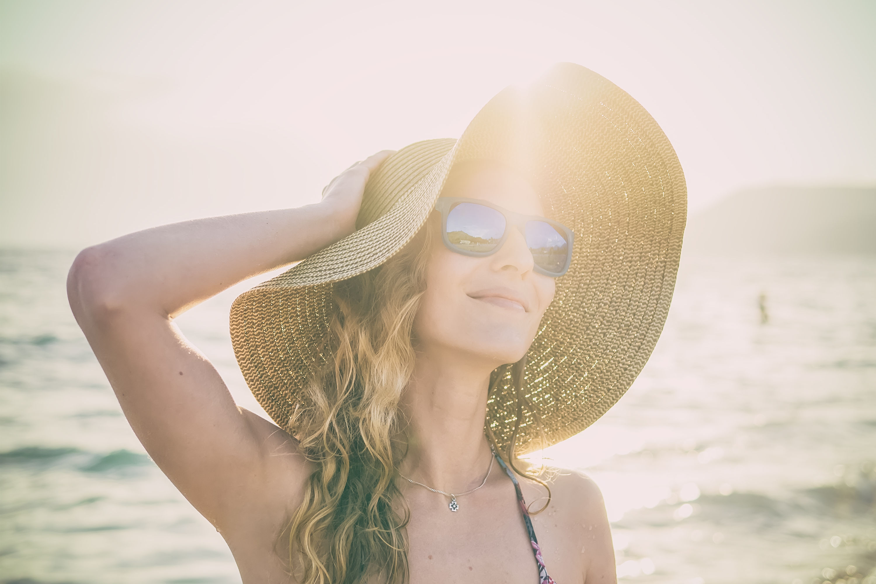 How to Protect Your Hair From Sun, Chlorine, and Salt Water