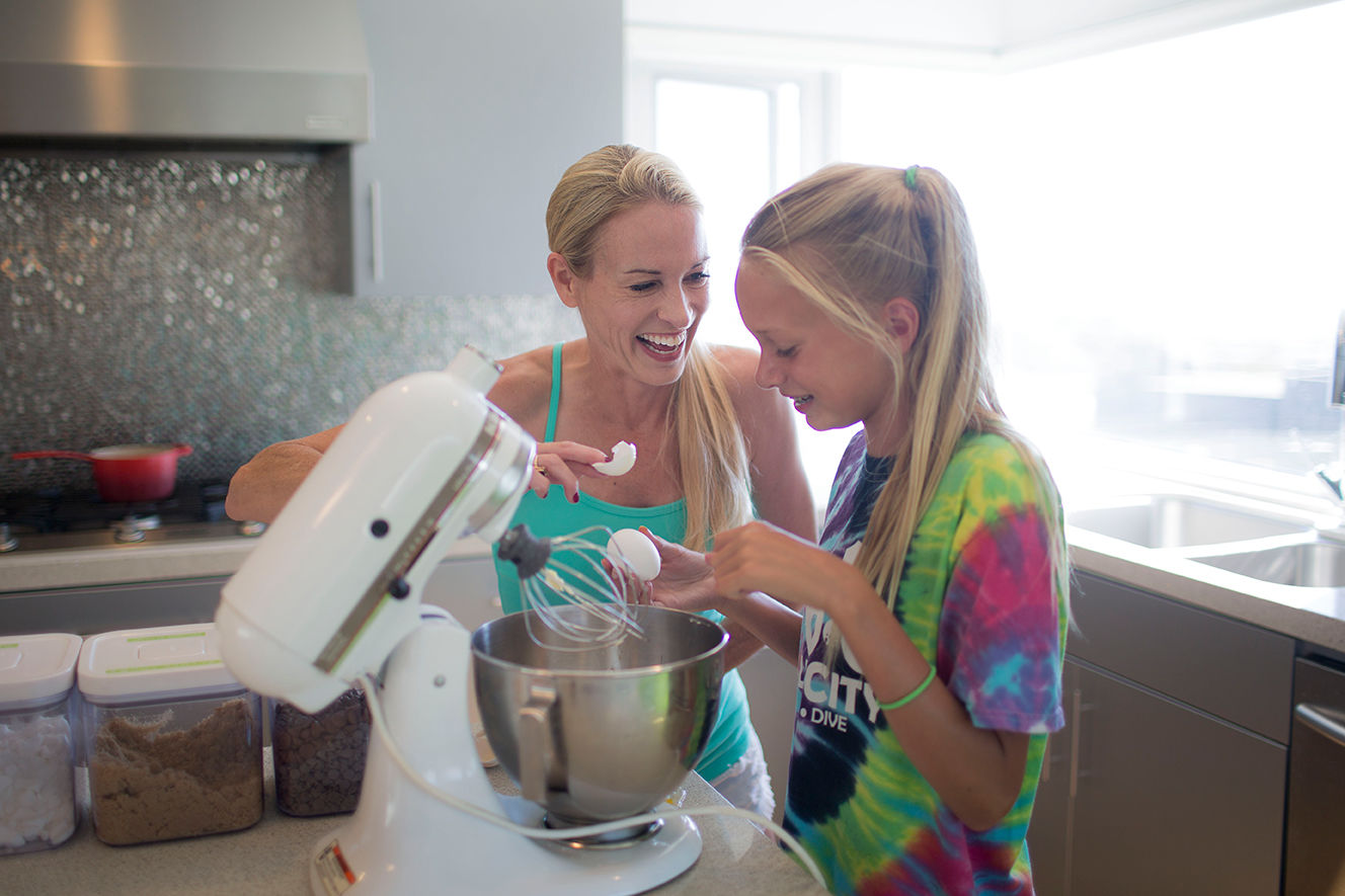 How to Get Your Family Helping in the Kitchen More Often (and Having Fun When they Do)