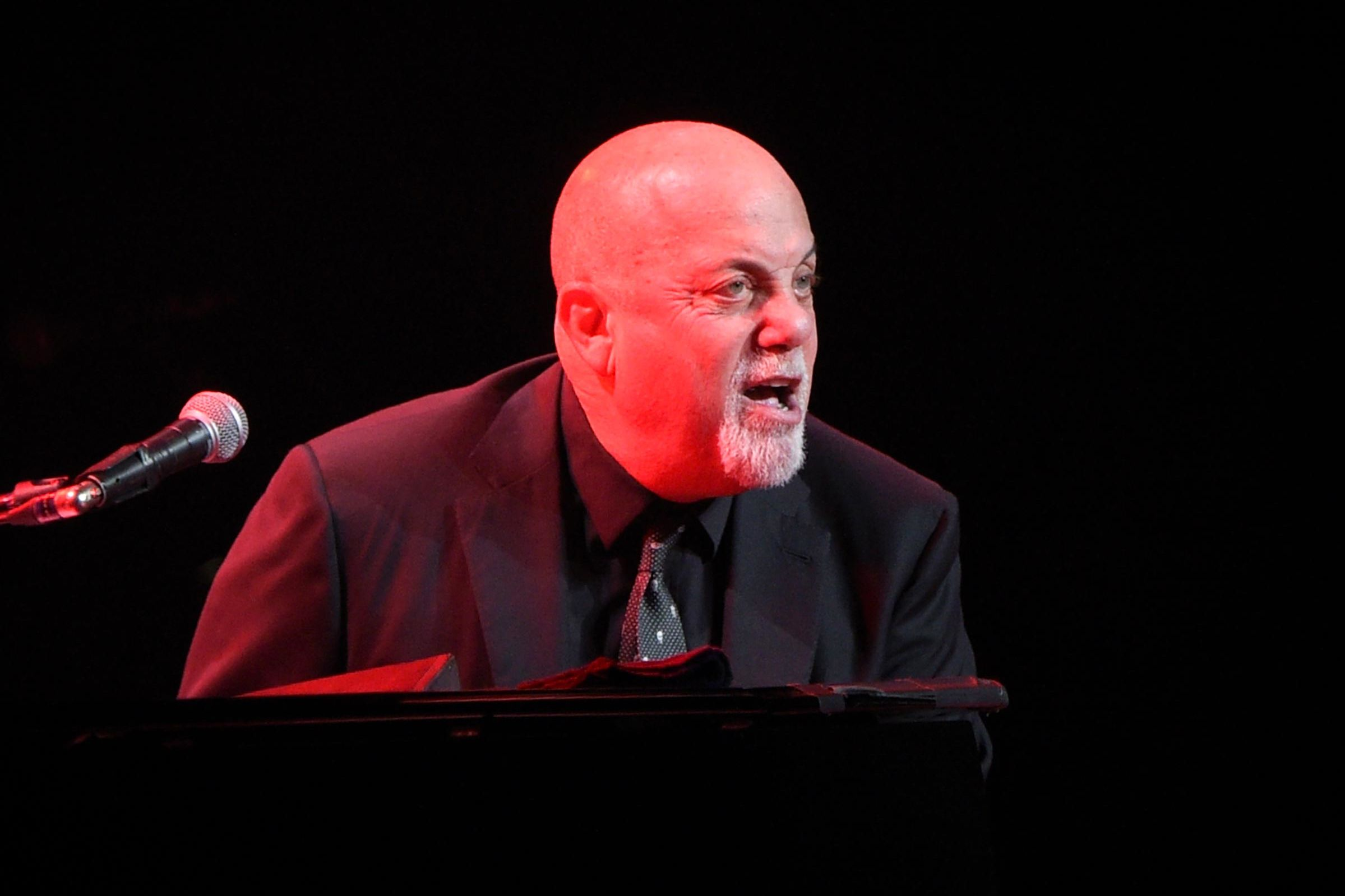 Billy Joel performs 'Miami 2017' in Miami, 2017
