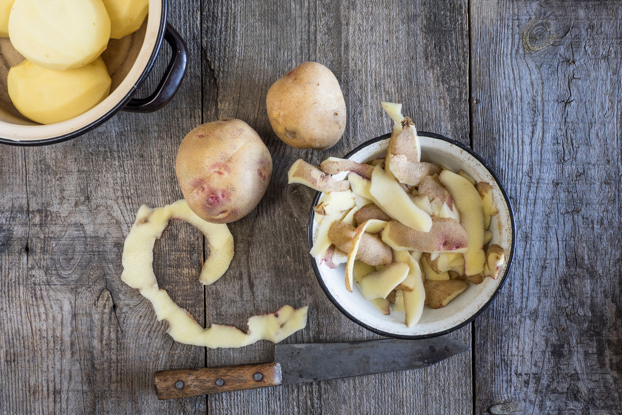 Why You Should Save Your Potato Peels