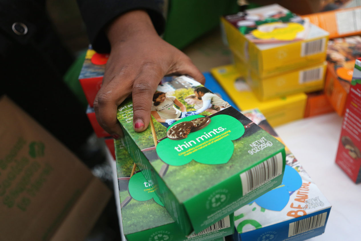 The Girl Scouts Will Let You Send Cookies to Hurricane Harvey First Responders