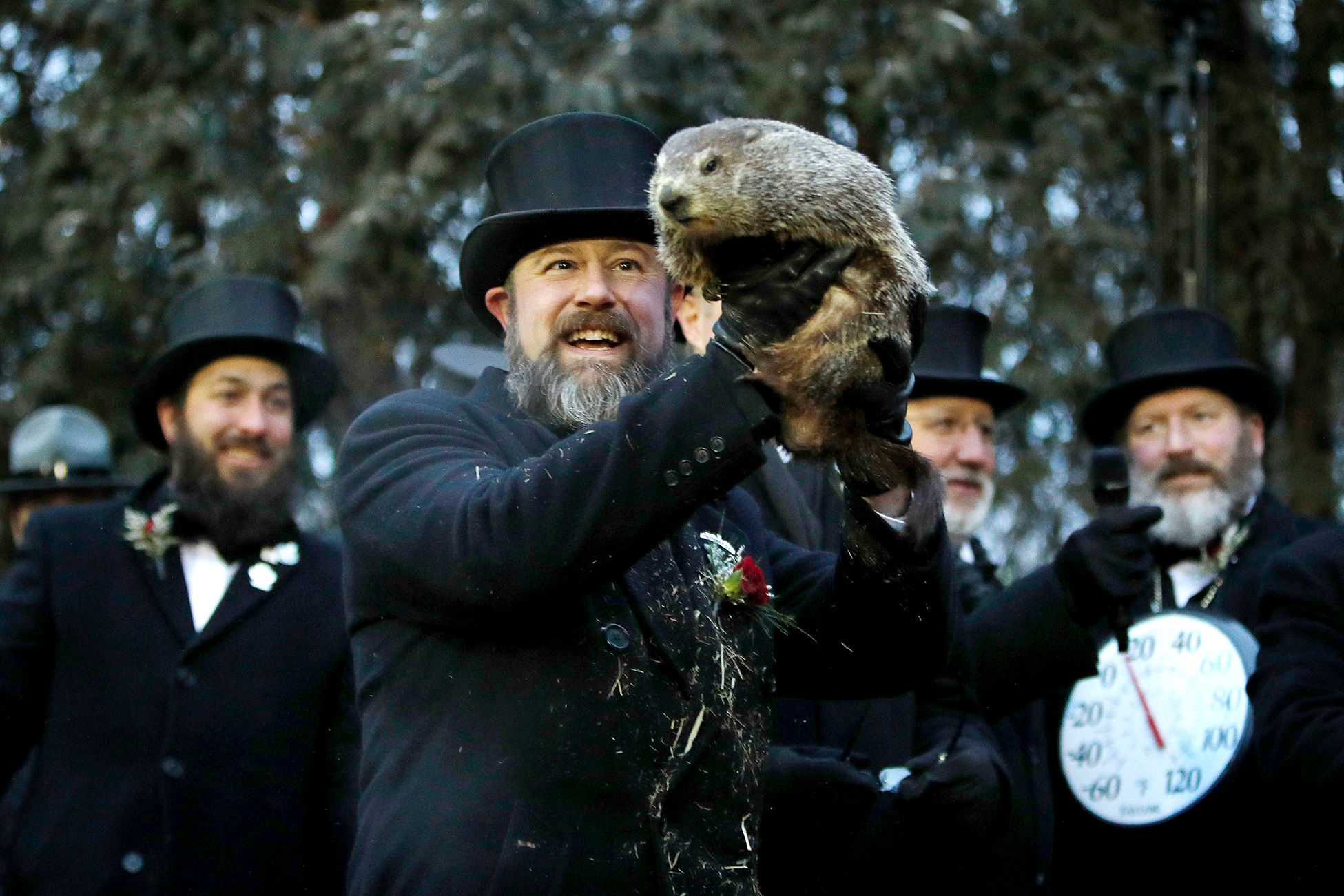 Bye Bye Winter? Punxsutawney Phil Predicts an Early Spring on Groundhog Day