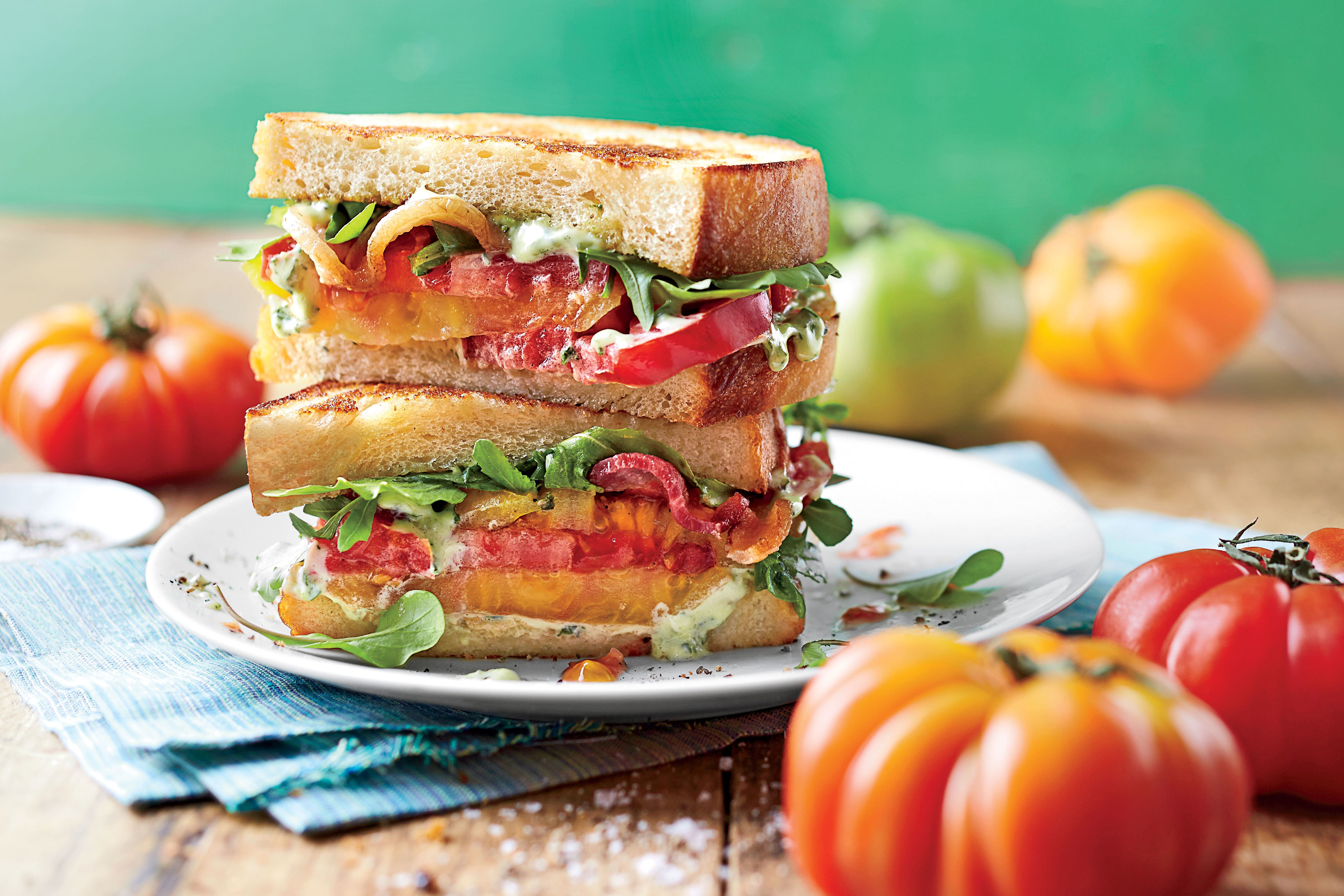 The Biggest Mistake You Can Make With a Tomato Sandwich