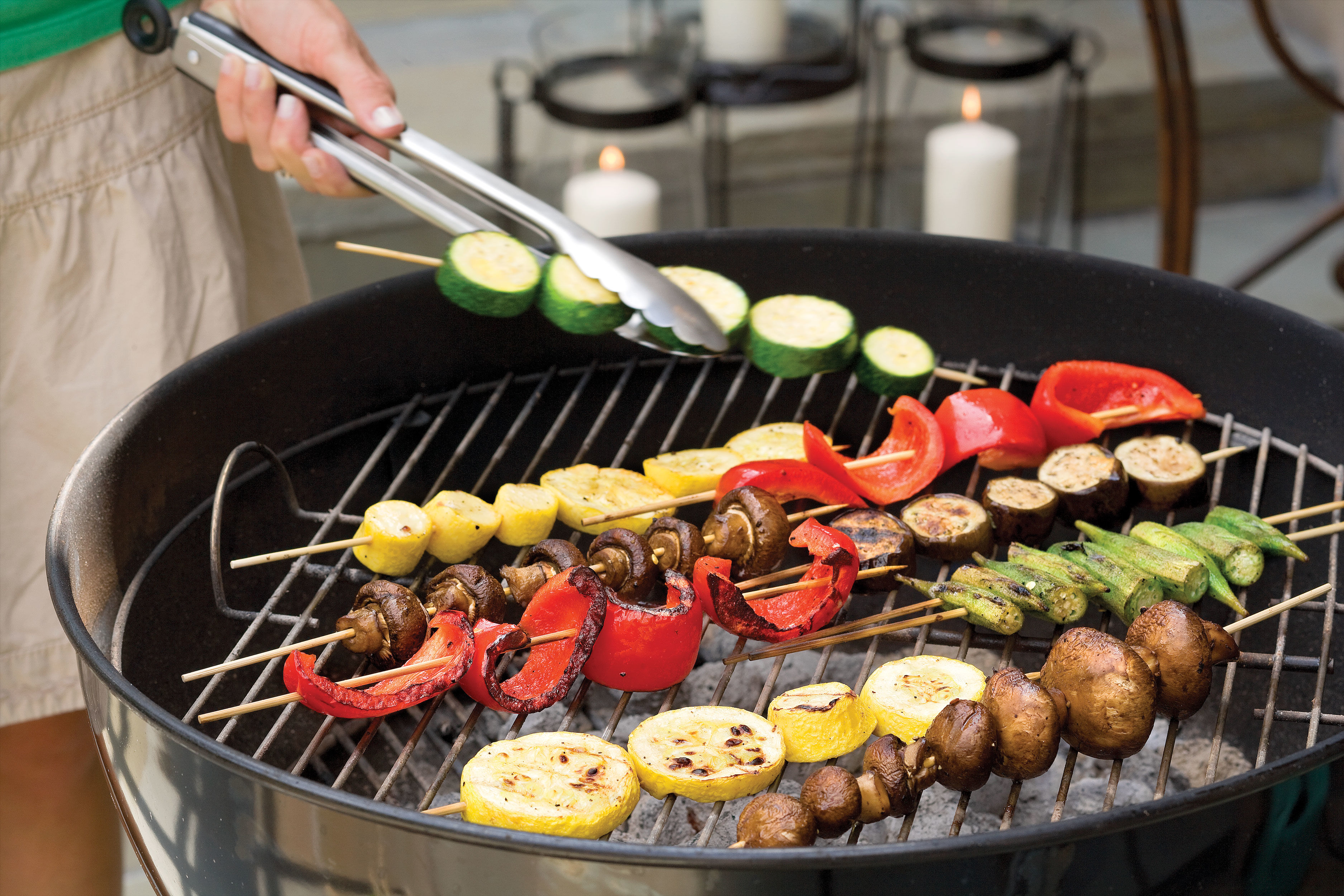 Kabobs―No Meat Required