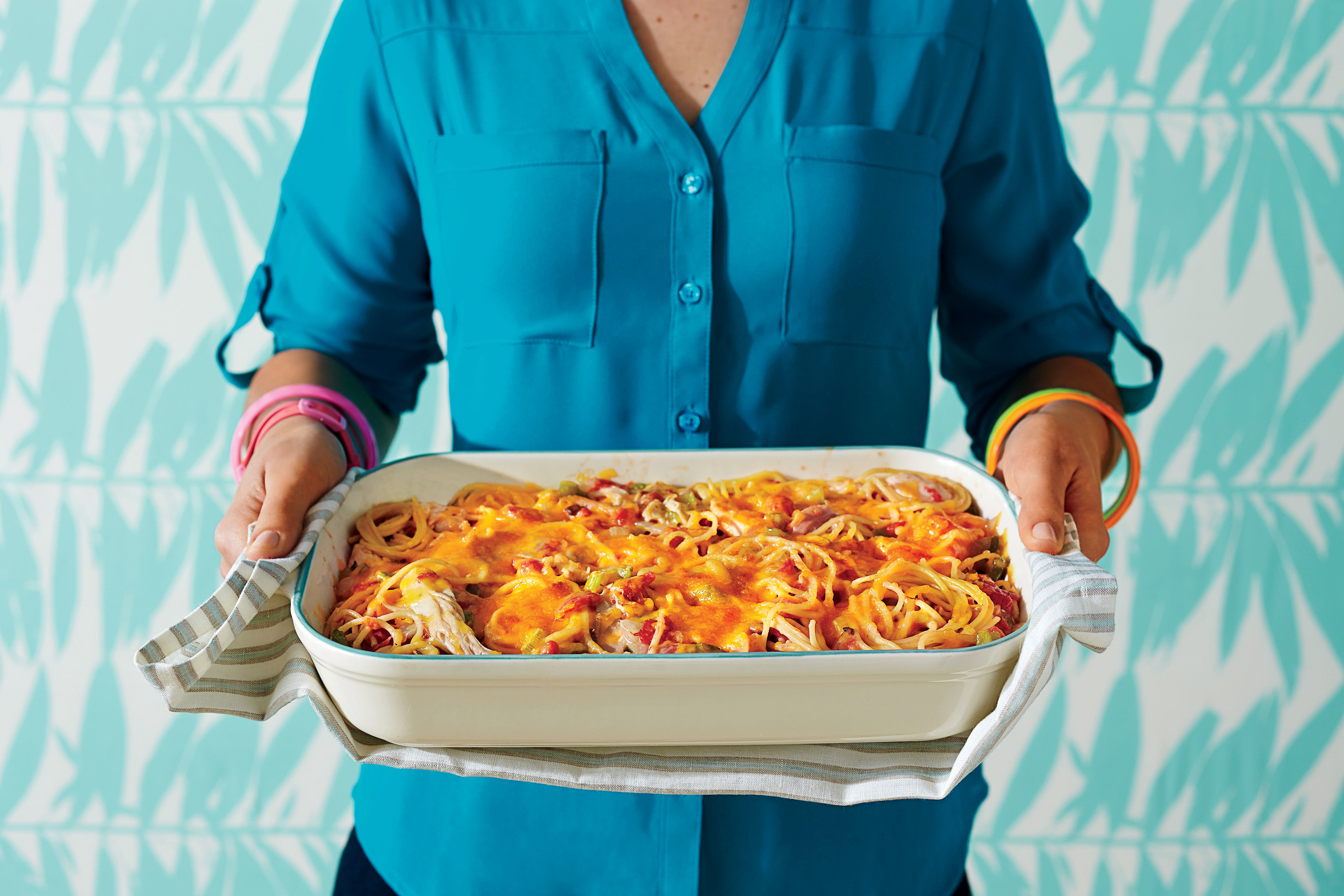 WATCH: Why Chicken Spaghetti Casserole Will Always Have a Place On Our Table