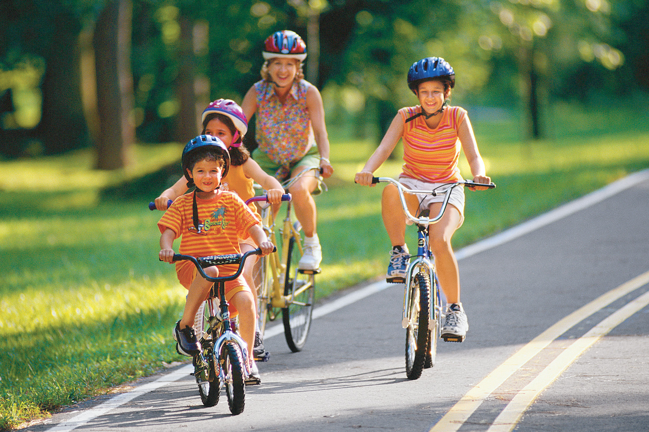 Take Your Family Biking