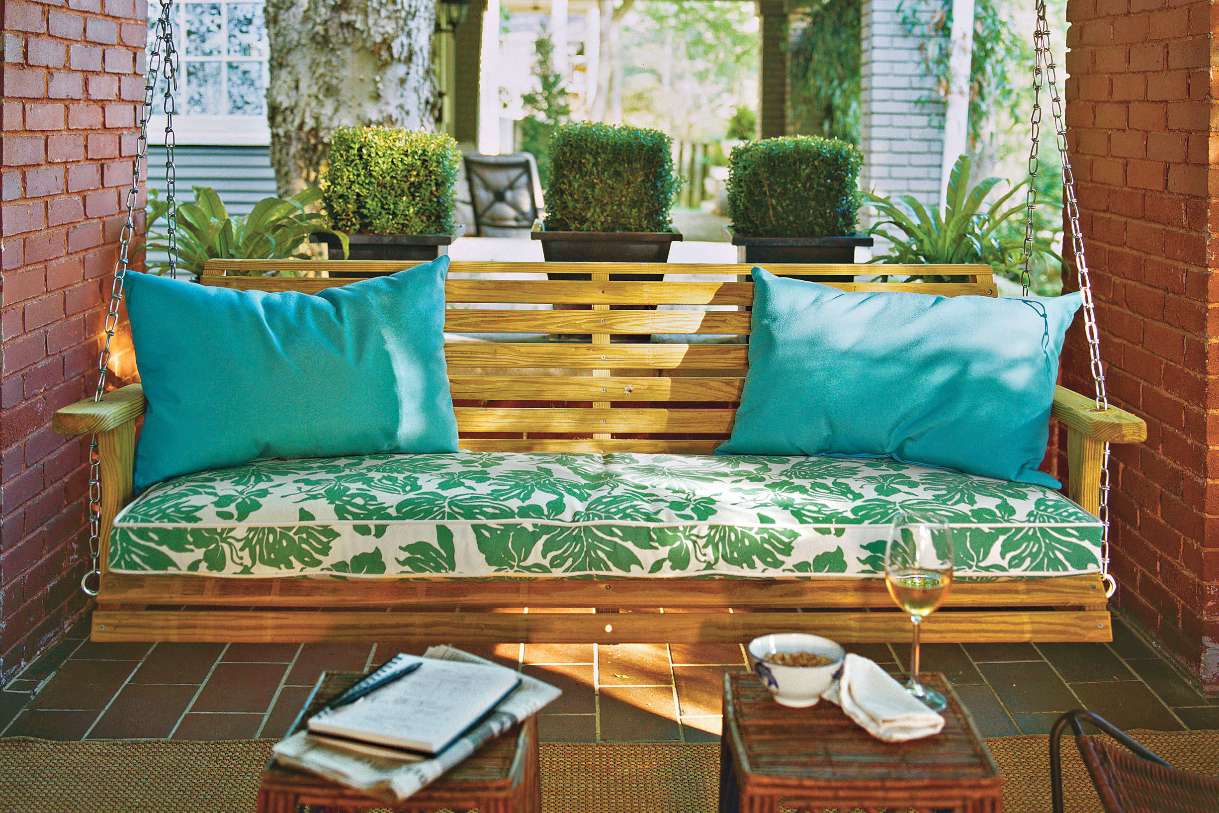 Set Up a Porch Swing: Perfect for Socializing