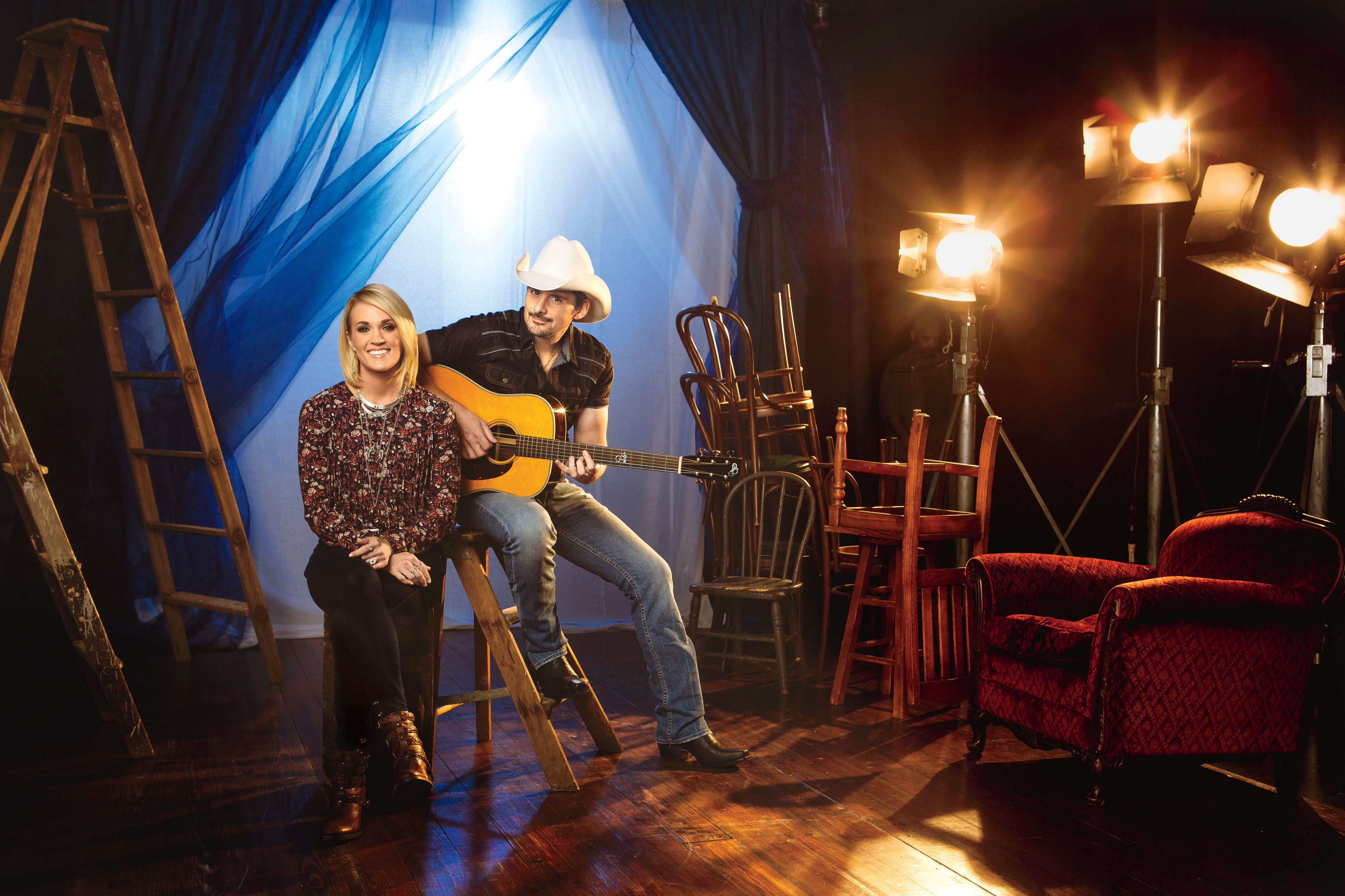 Carrie and Brad Return for the 2016 CMA Awards
