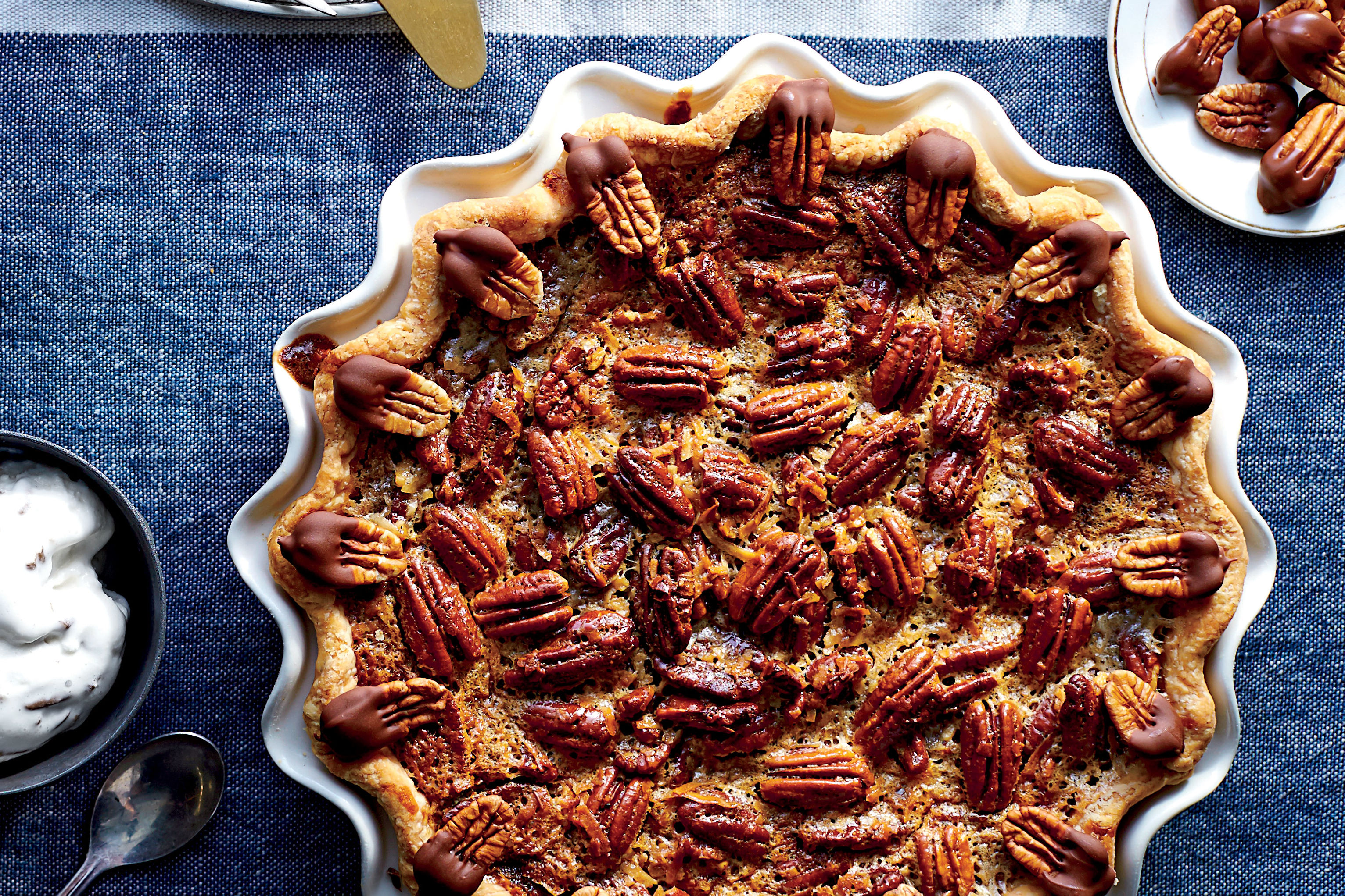 German Chocolate-Pecan Pie Recipe