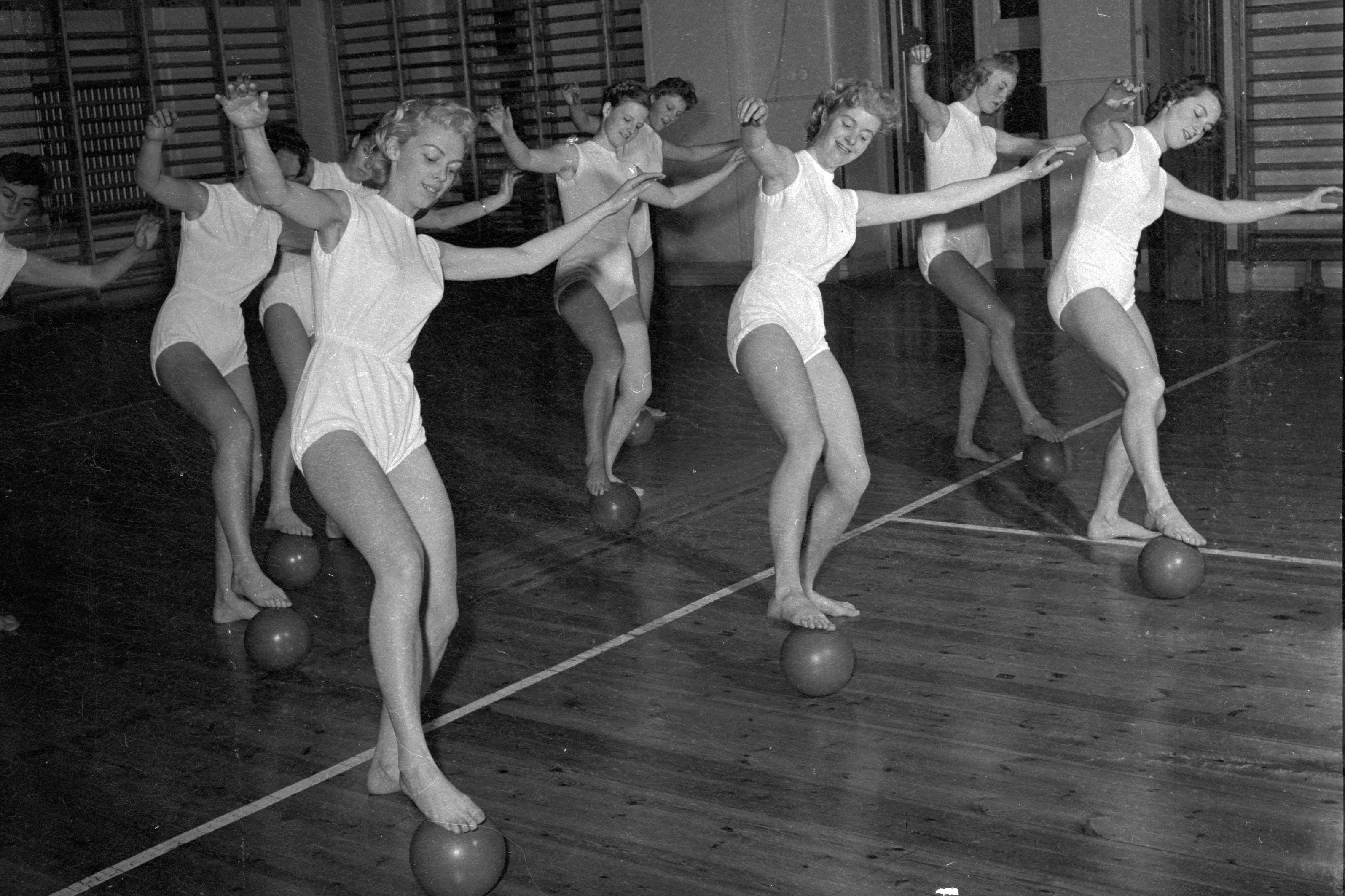 A Southern Girl's Workout—Then and Now